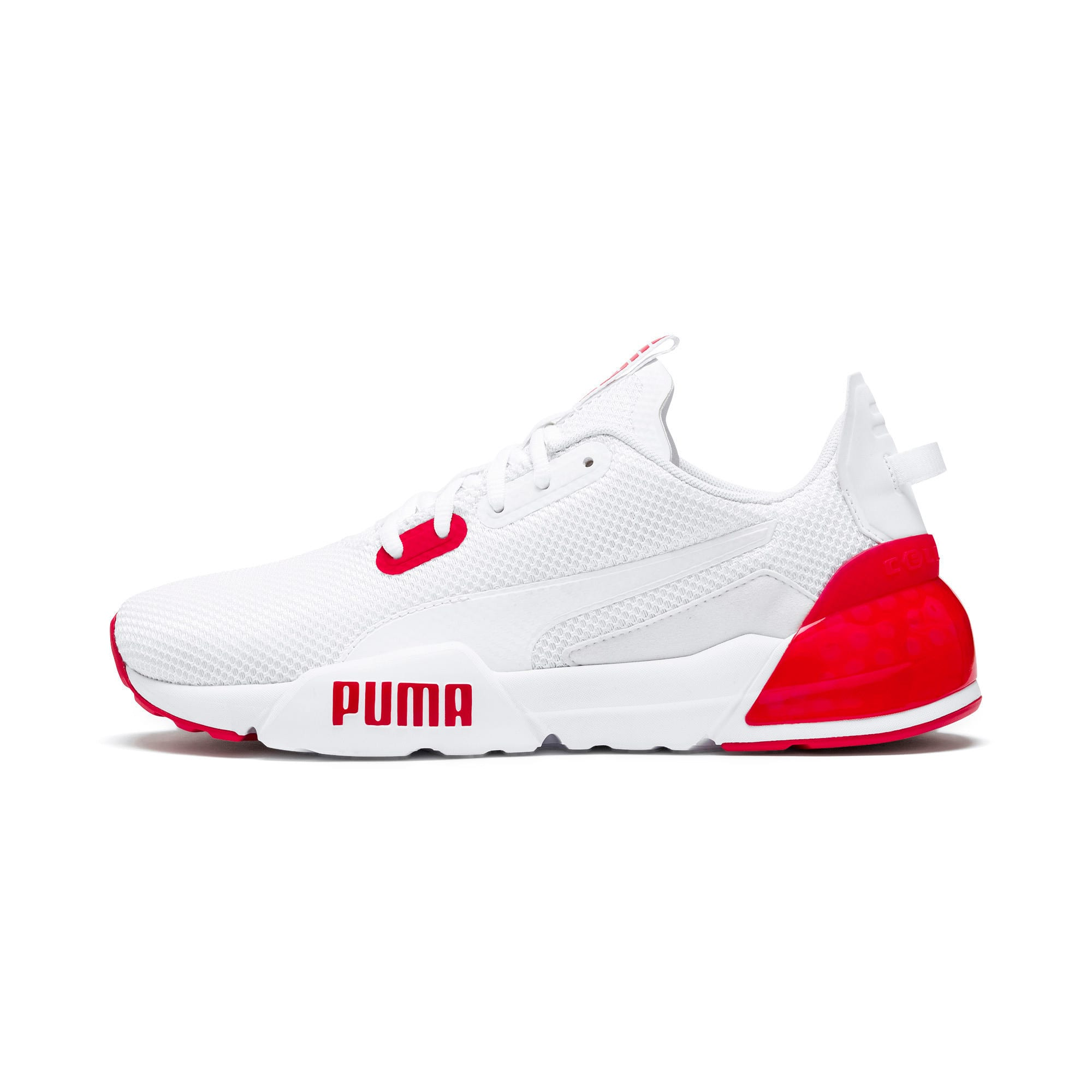 Thumbnail 1 of CELL Phase Men's Training Shoes, Puma White-High Risk Red, medium