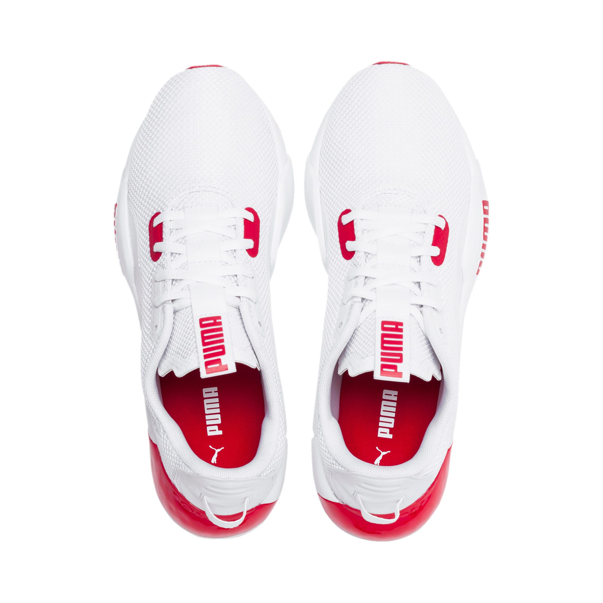 Thumbnail 7 of CELL Phase Men's Training Shoes, Puma White-High Risk Red, medium
