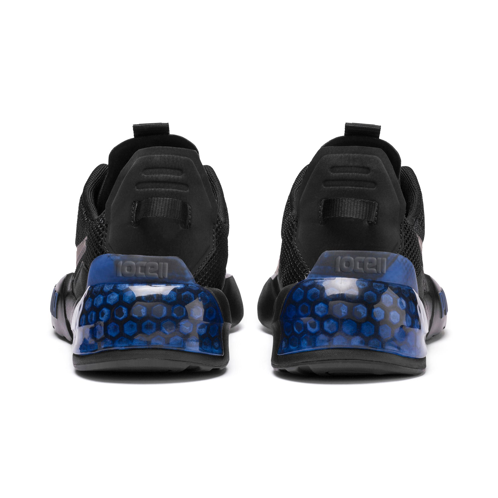 Thumbnail 4 of CELL Phase Men's Running Trainers, Puma Black-Galaxy Blue, medium