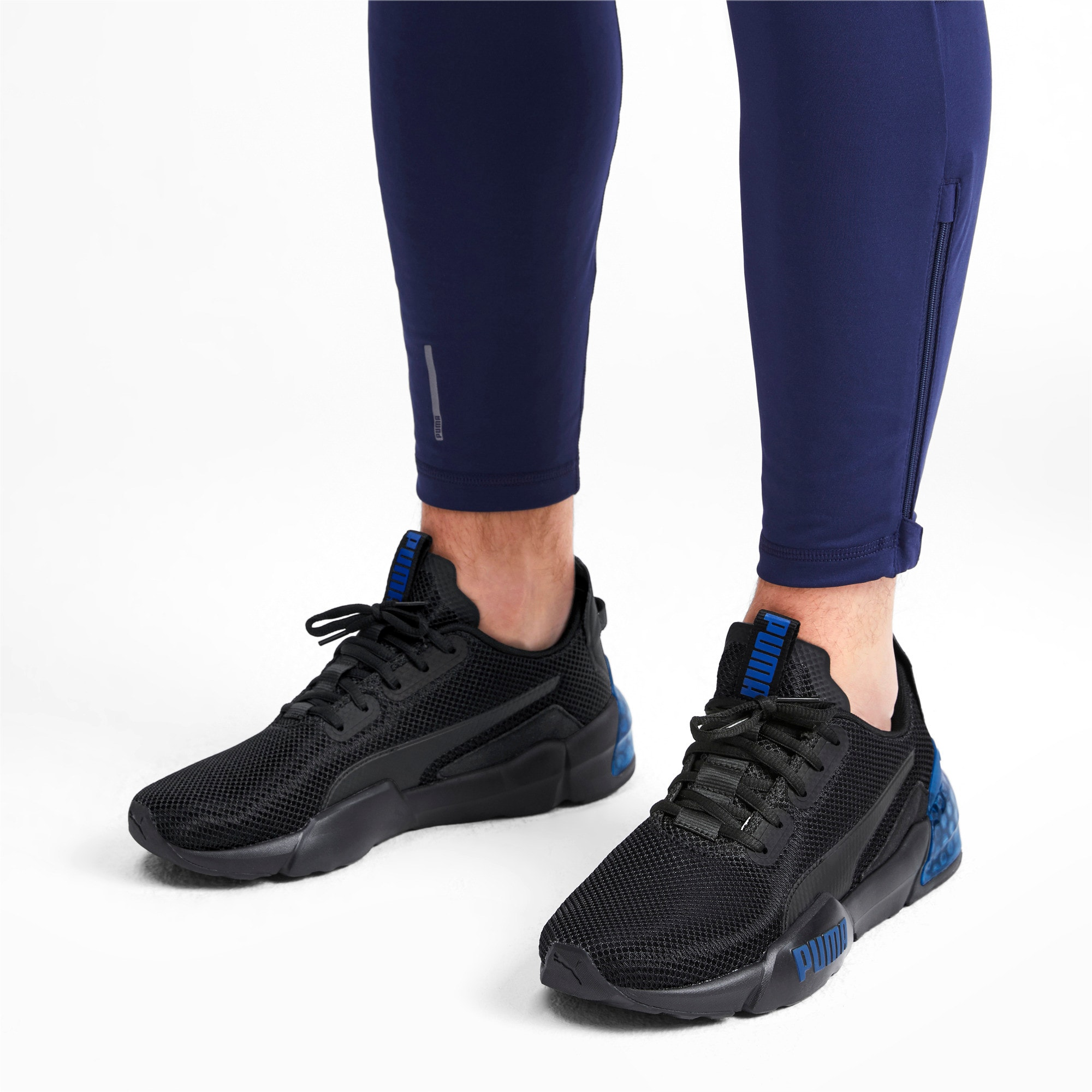 Thumbnail 2 of CELL Phase Men's Training Shoes, Puma Black-Galaxy Blue, medium
