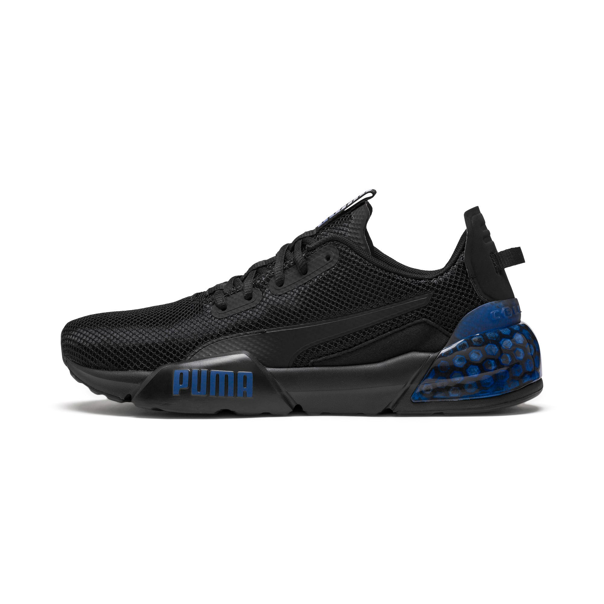 Thumbnail 1 of CELL Phase Men's Running Trainers, Puma Black-Galaxy Blue, medium