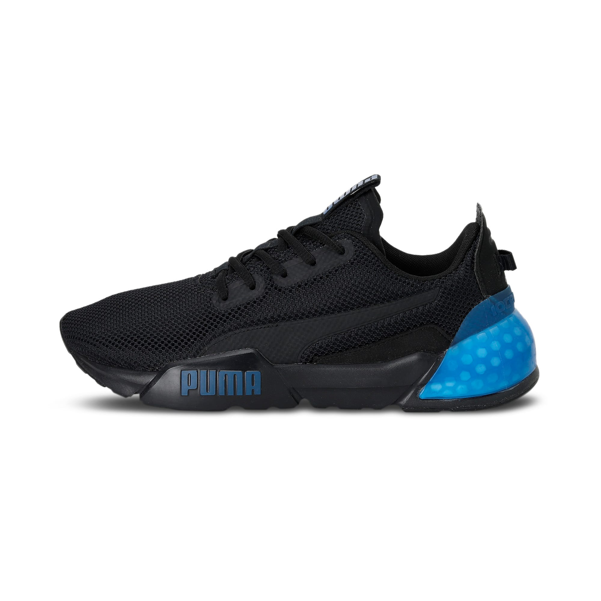 Thumbnail 1 of CELL Phase Men's Running Trainers, Puma Black-Galaxy Blue, medium-IND