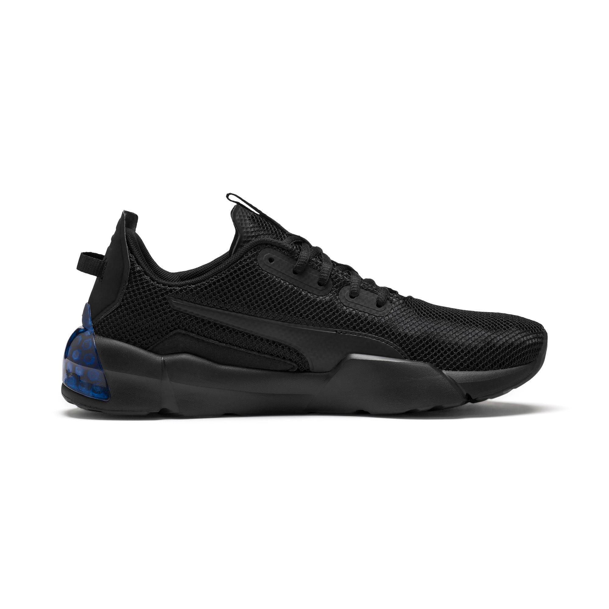 Thumbnail 6 of CELL Phase Men's Running Trainers, Puma Black-Galaxy Blue, medium