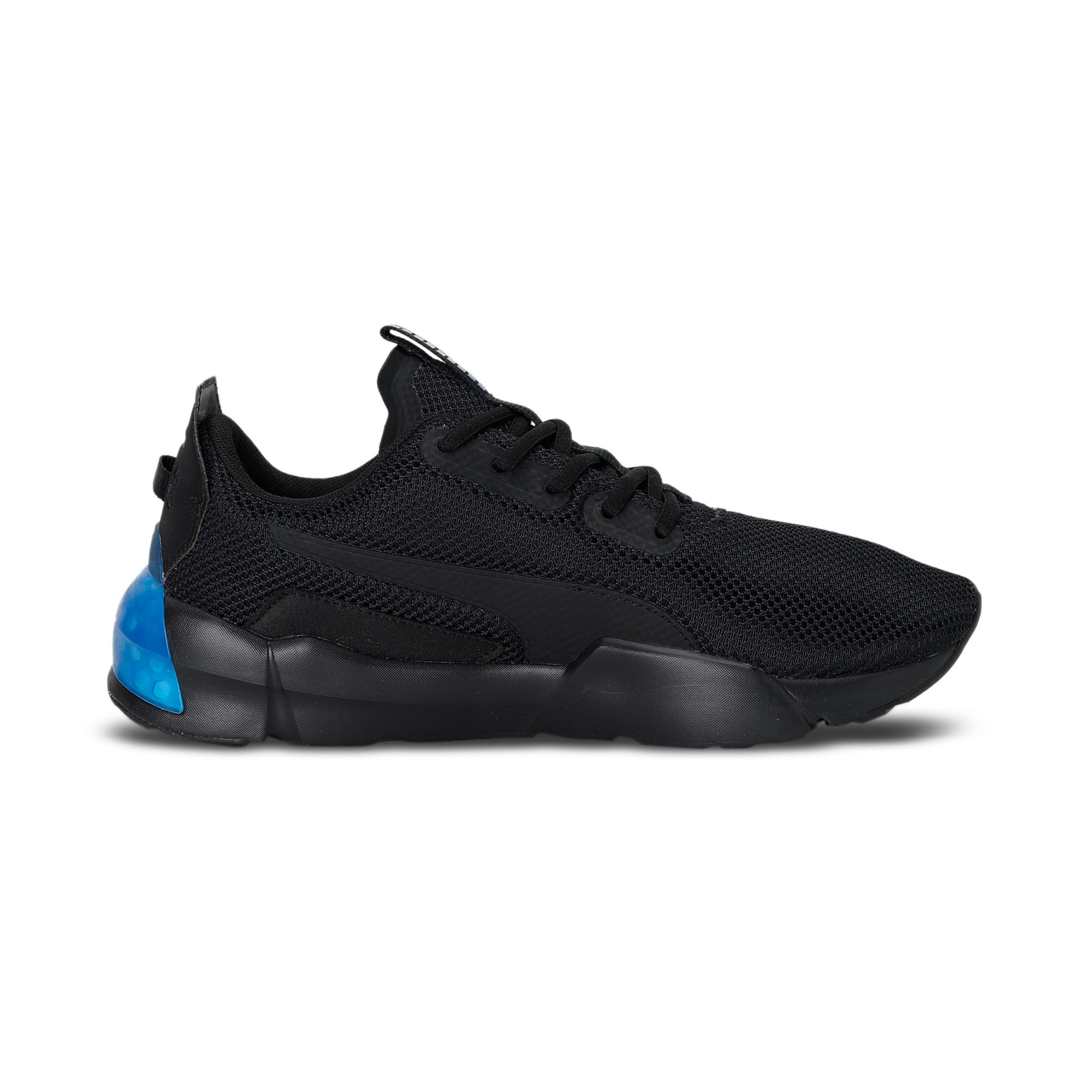 Thumbnail 7 of CELL Phase Men's Running Trainers, Puma Black-Galaxy Blue, medium-IND