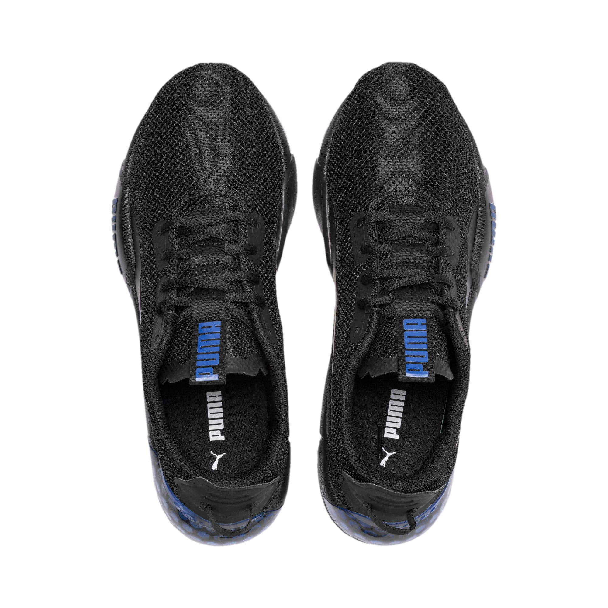 Thumbnail 7 of CELL Phase Men's Running Trainers, Puma Black-Galaxy Blue, medium