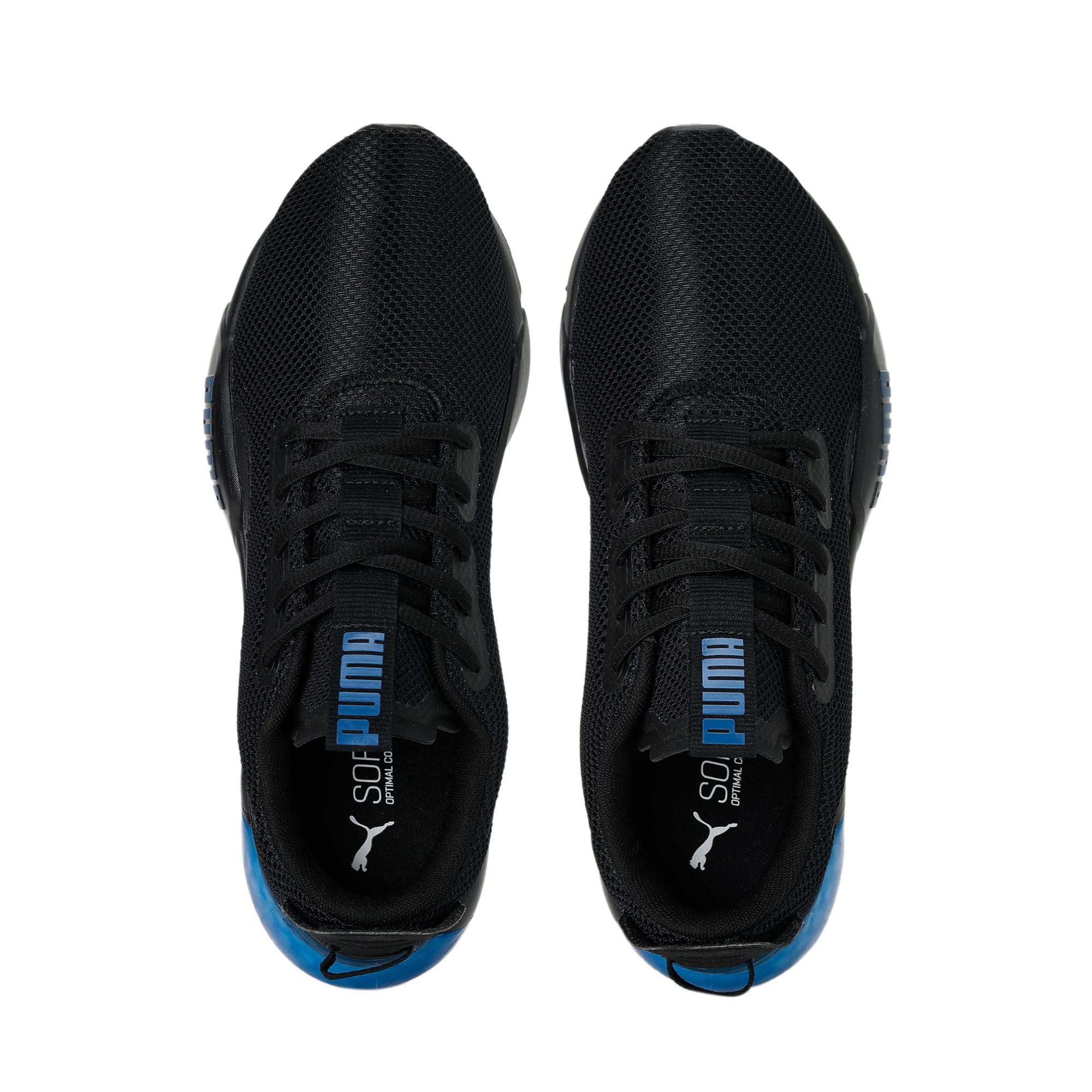Thumbnail 8 of CELL Phase Men's Running Trainers, Puma Black-Galaxy Blue, medium-IND