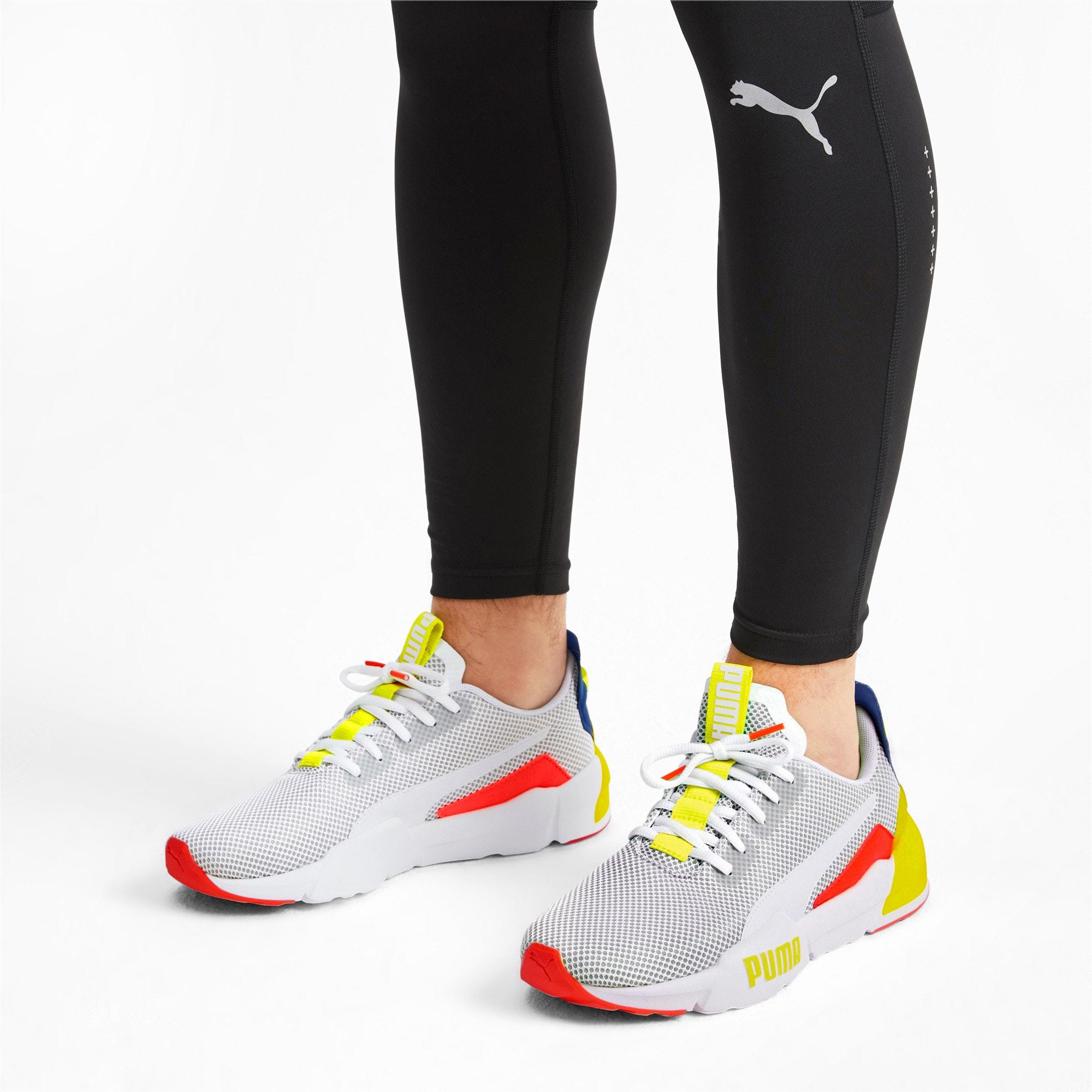 Thumbnail 3 of CELL Phase Men's Training Shoes, White-GalaxyBlue-YellowAlert, medium