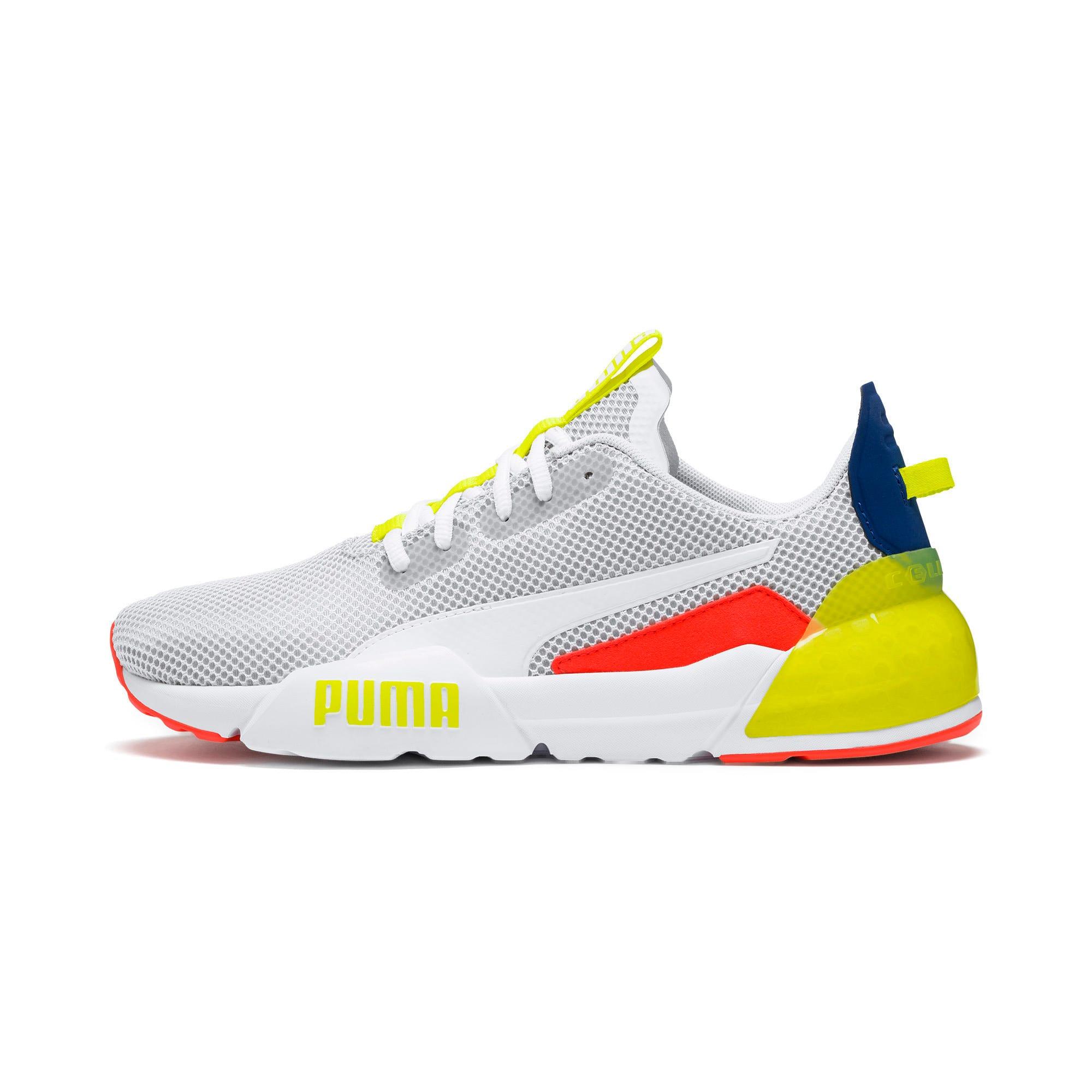 Thumbnail 1 of CELL Phase Men's Training Shoes, White-GalaxyBlue-YellowAlert, medium