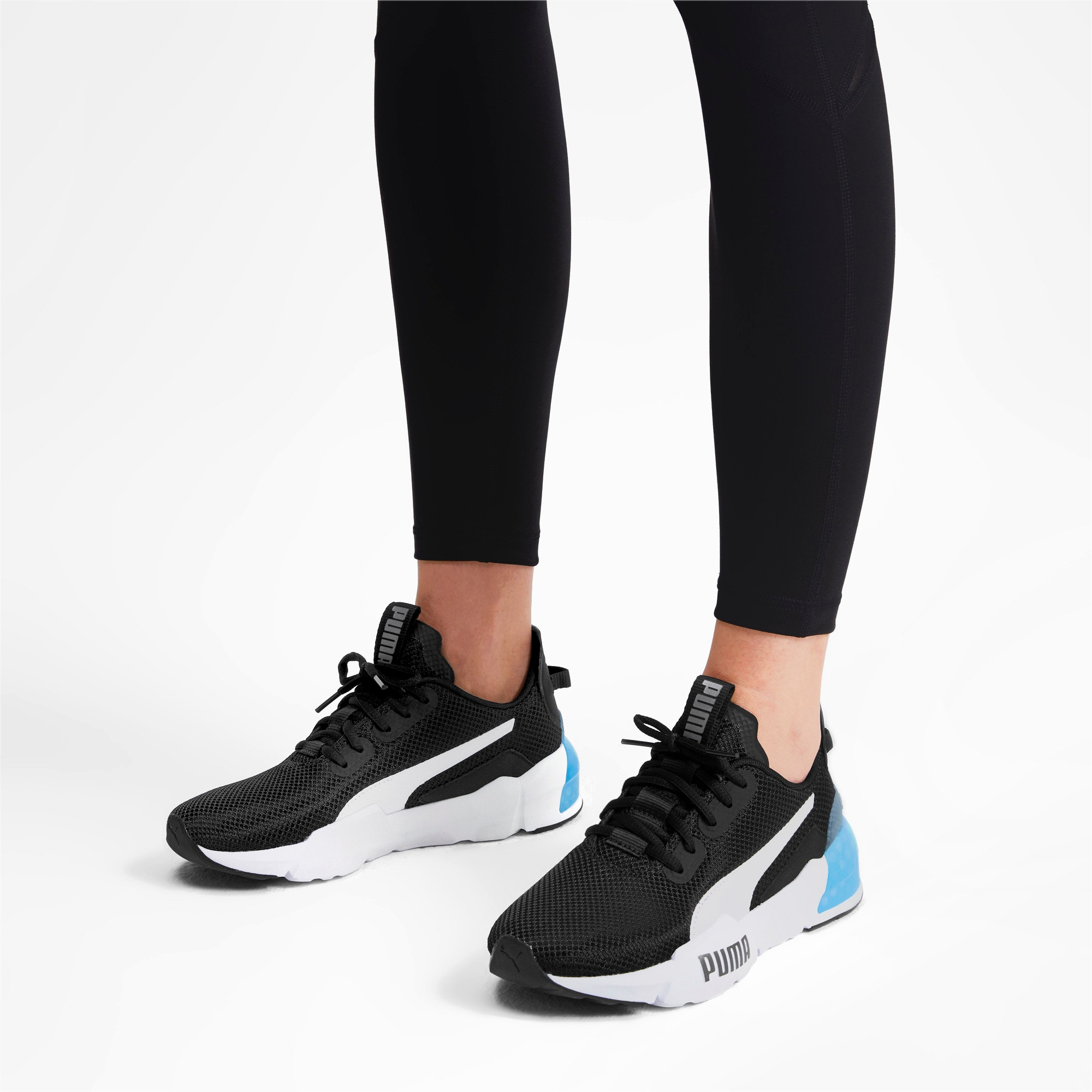 Thumbnail 2 van CELL Phase sportschoenen voor vrouwen, Puma Black-Puma Silver, medium