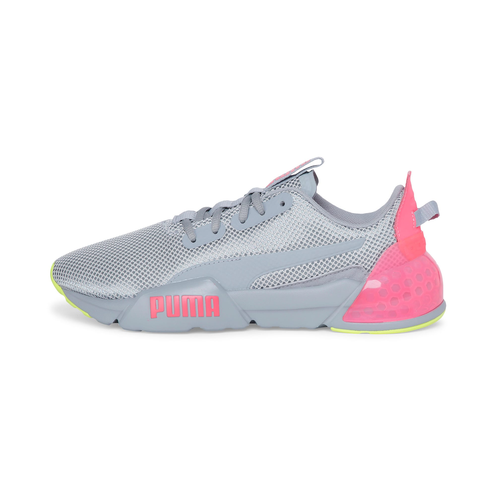 Thumbnail 1 of CELL Phase Women's Trainers, Quarry-Pink Alert, medium-IND