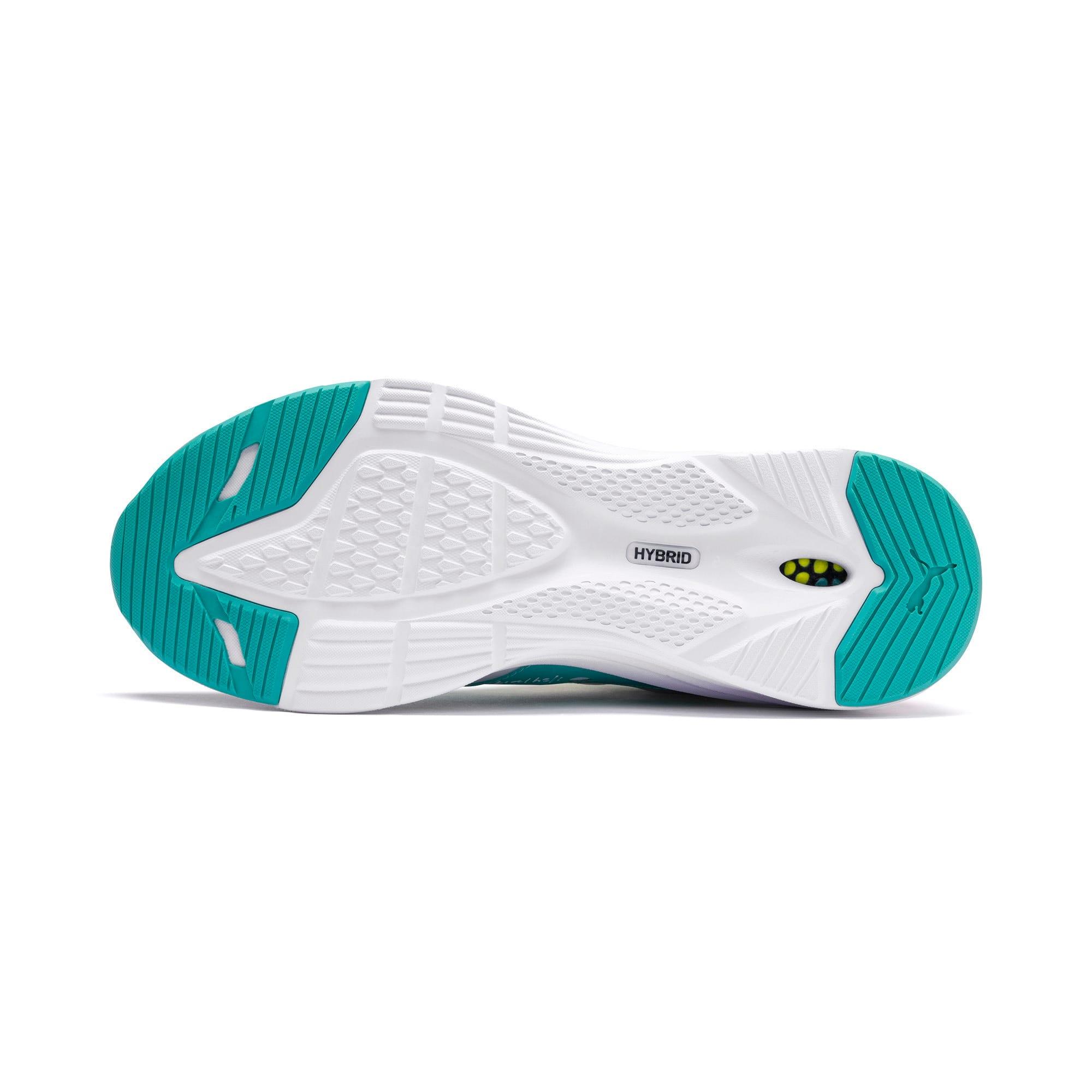 Thumbnail 4 of HYBRID Fuego Men's Running Shoes, White-Nrgy Rose-Yellow Alert, medium
