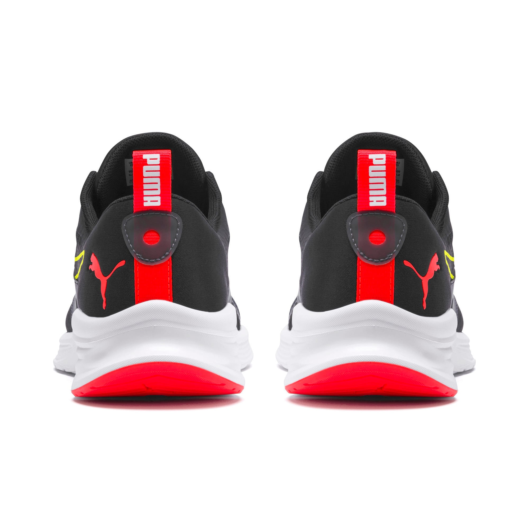 Thumbnail 4 of HYBRID Fuego Men's Running Shoes, Puma Black-Yellow Alert, medium-IND