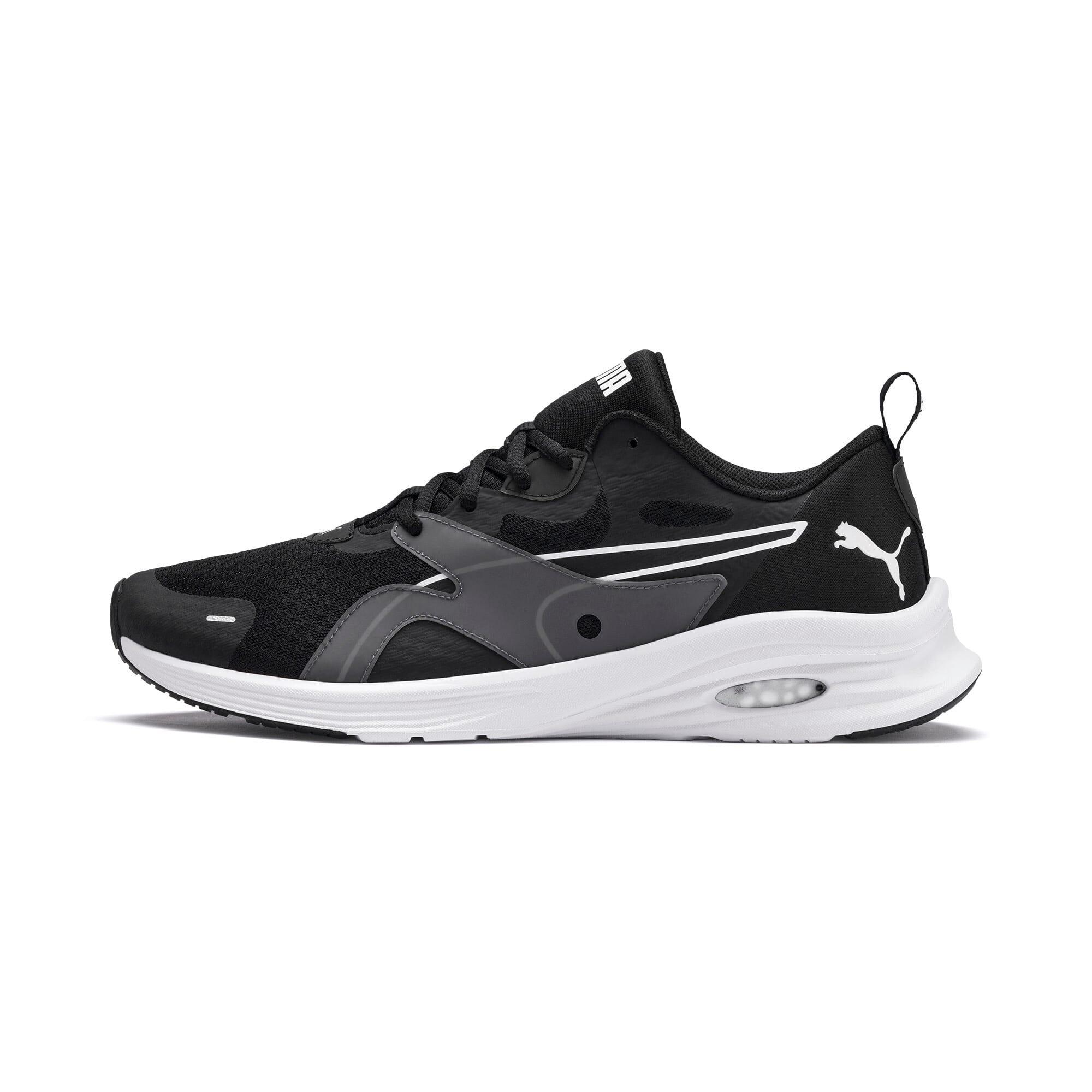 Thumbnail 1 of HYBRID Fuego Men's Running Shoes, Puma Black-Puma White, medium