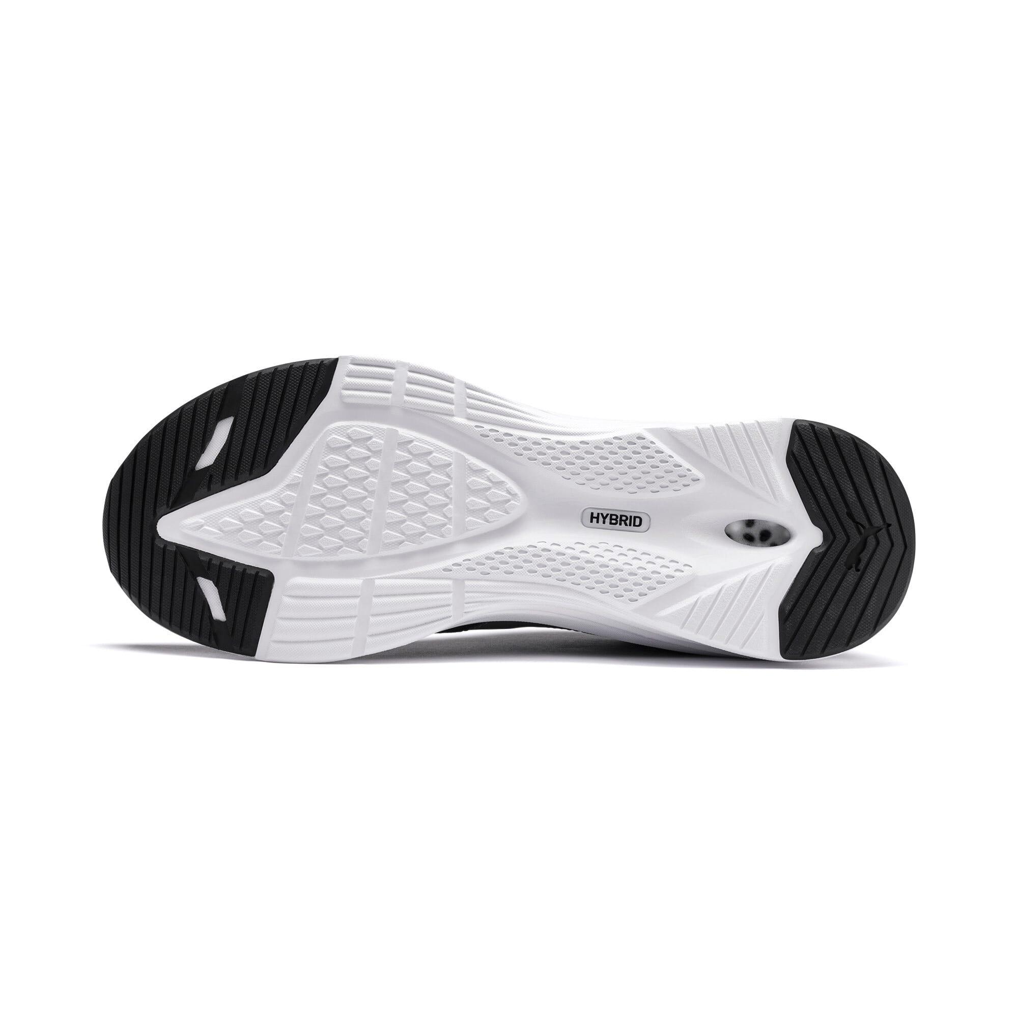 Thumbnail 5 of HYBRID Fuego Men's Running Shoes, Puma Black-Puma White, medium