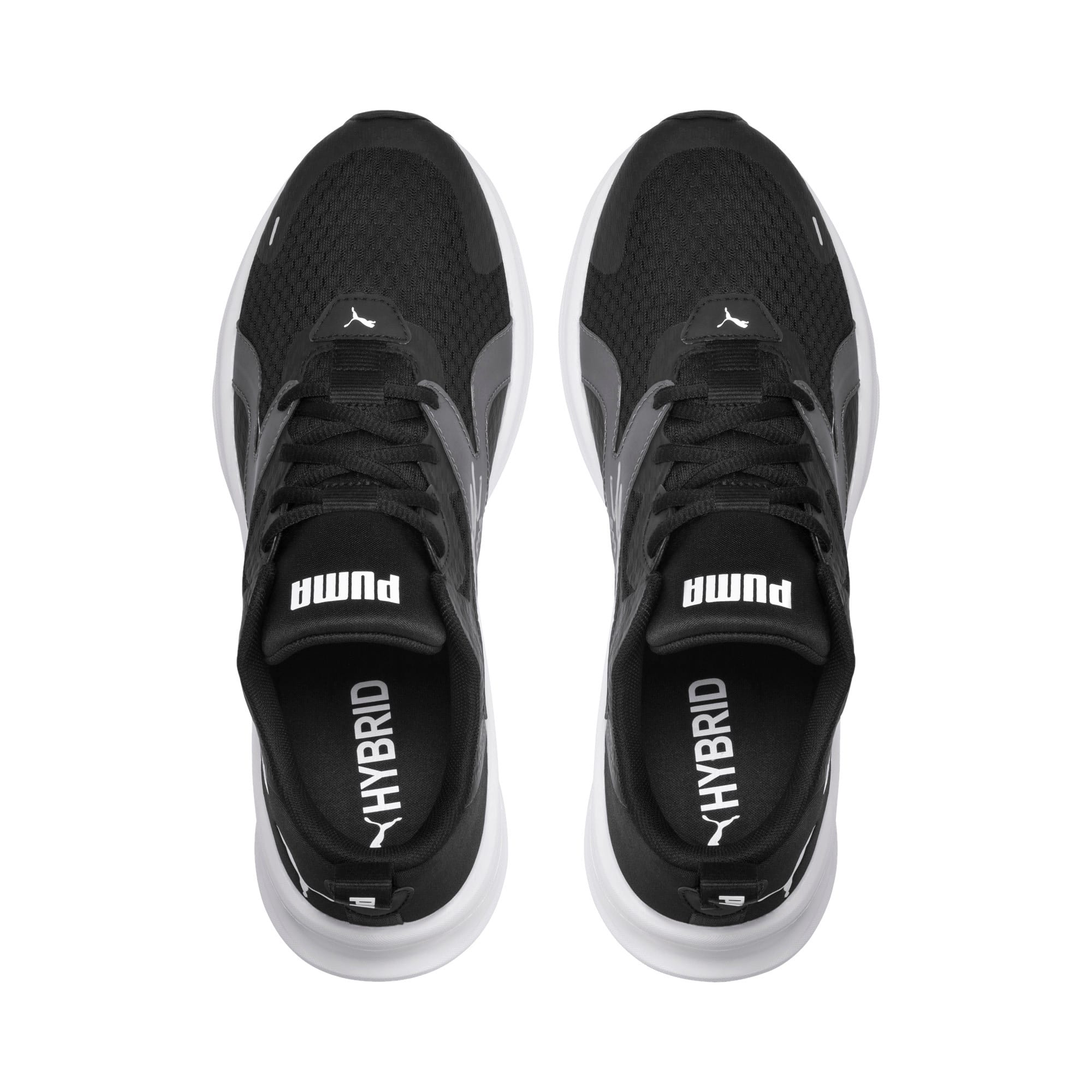 Thumbnail 7 of HYBRID Fuego Men's Running Shoes, Puma Black-Puma White, medium