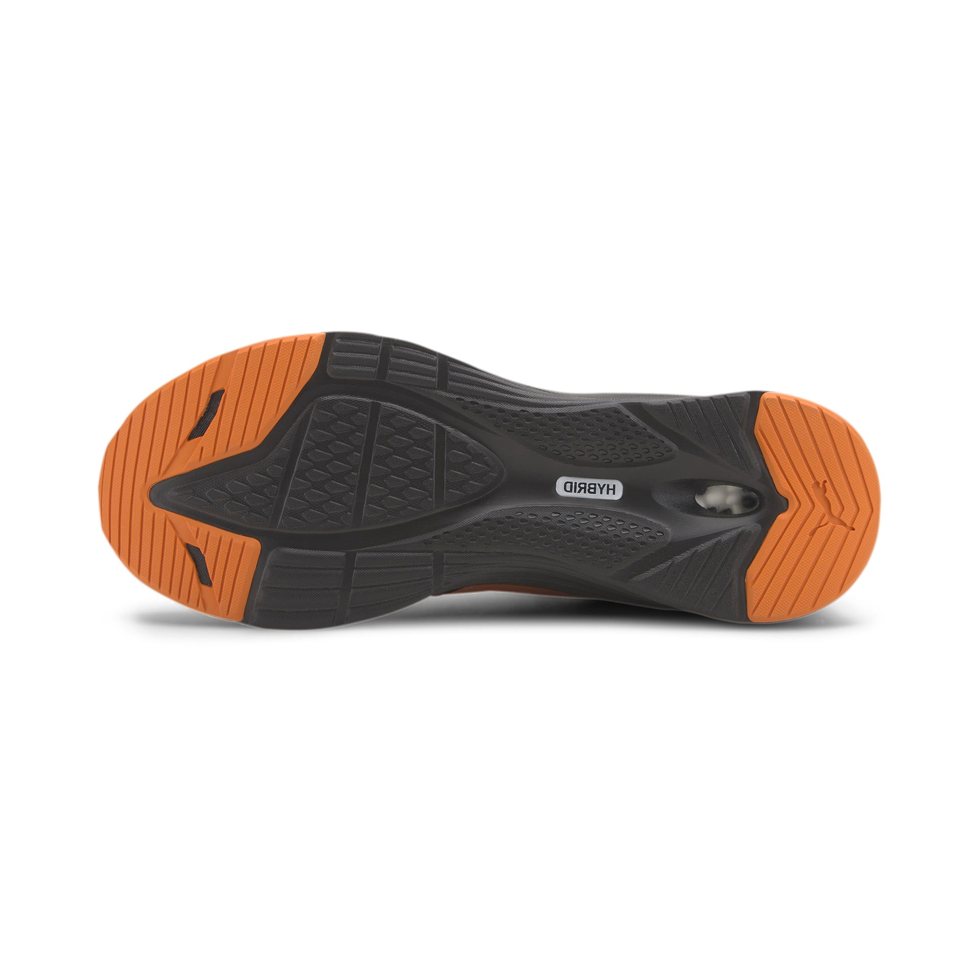 Thumbnail 4 of HYBRID Fuego Running Sneaker, Gibraltar Sea-Jaffa Orange, medium