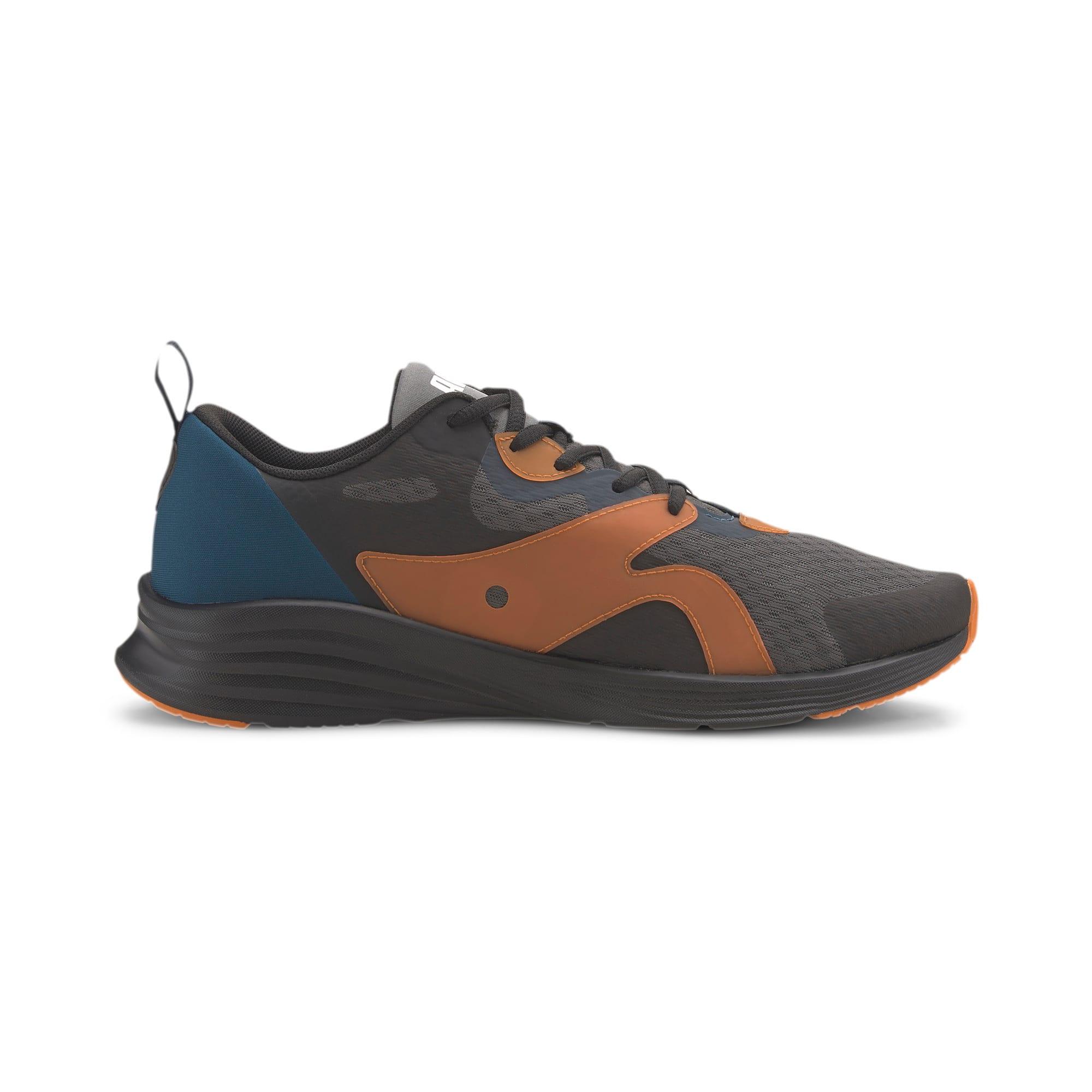 Thumbnail 5 of HYBRID Fuego Running Sneaker, Gibraltar Sea-Jaffa Orange, medium