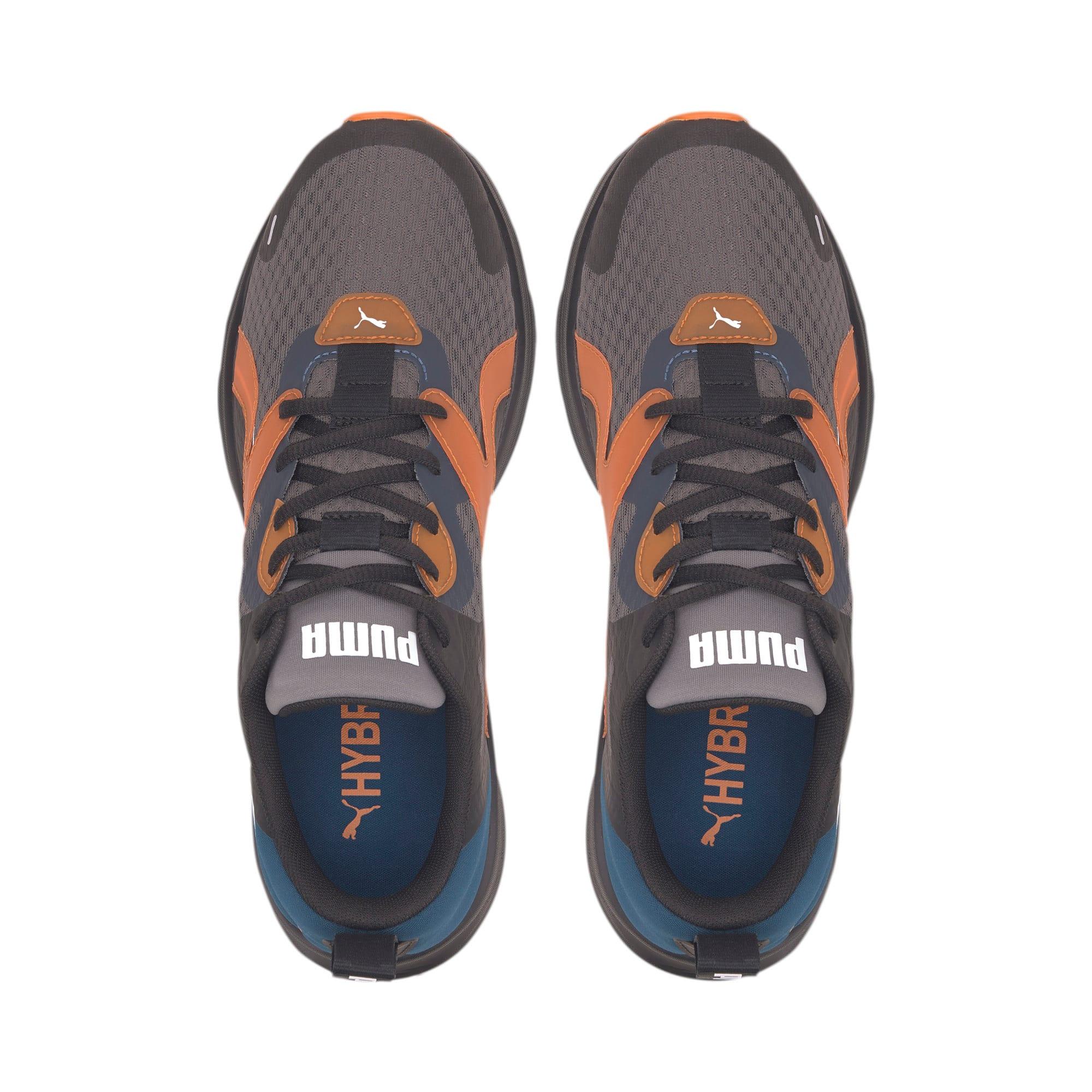 Thumbnail 6 of HYBRID Fuego Running Sneaker, Gibraltar Sea-Jaffa Orange, medium