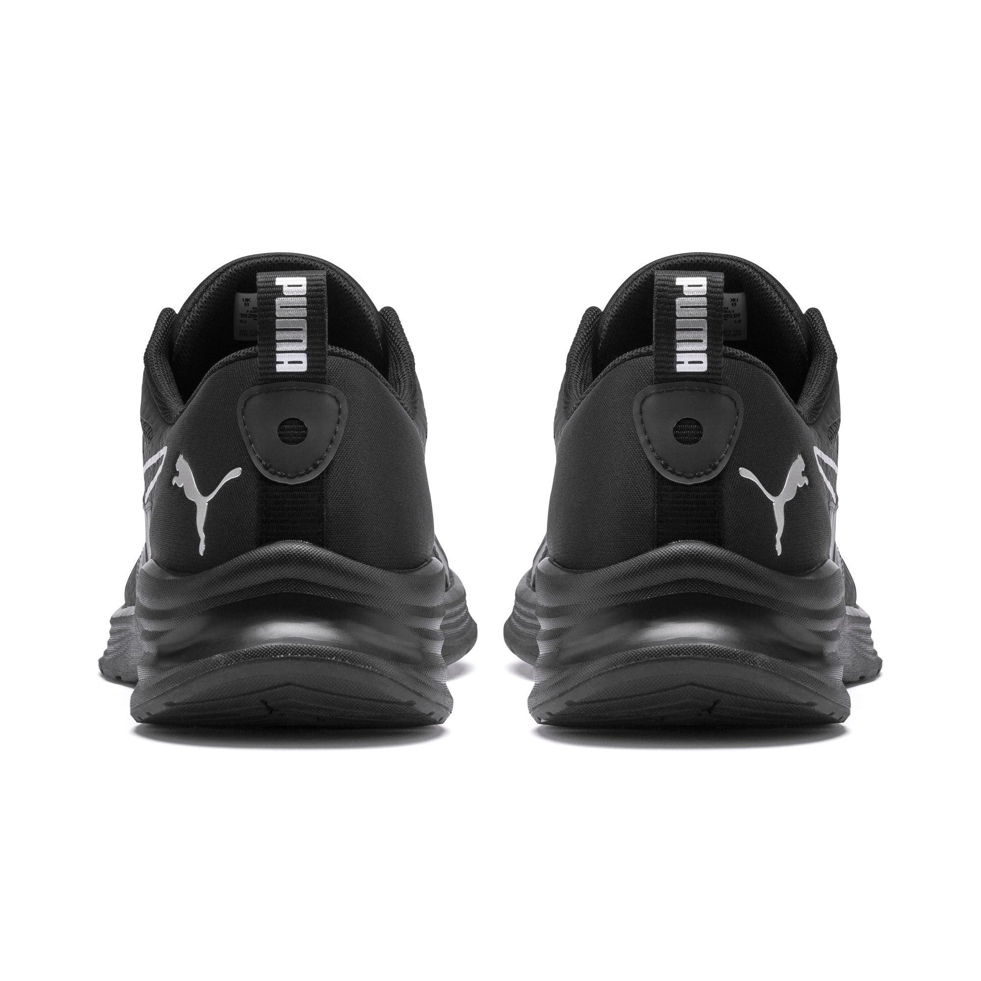 Thumbnail 4 of HYBRID Fuego Men's Running Shoes, Puma Black-Puma Black, medium