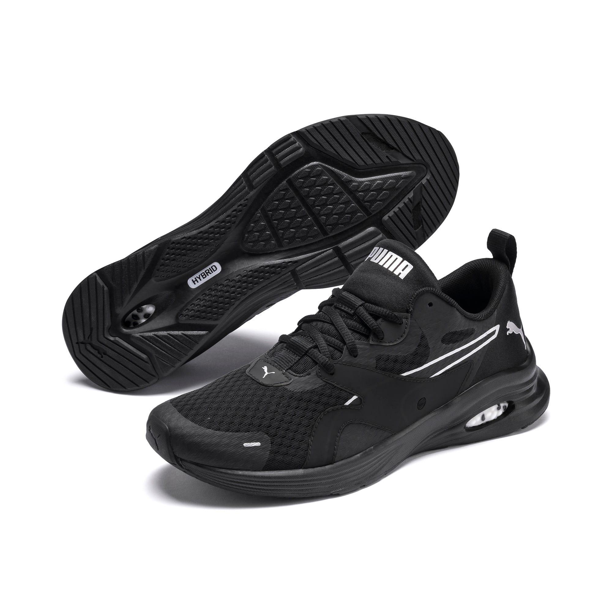 Thumbnail 3 of HYBRID Fuego Men's Running Shoes, Puma Black-Puma Black, medium