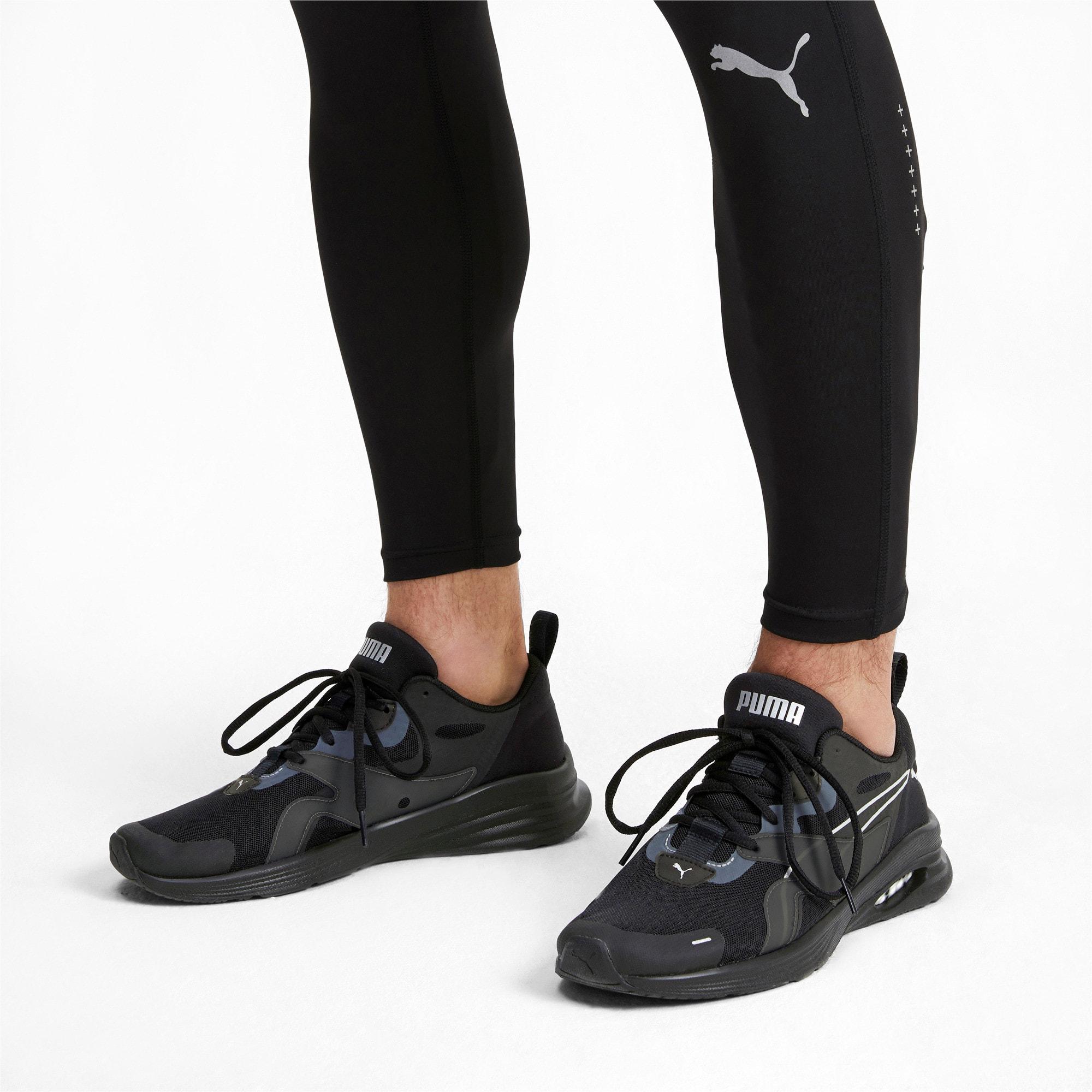 Thumbnail 2 of HYBRID Fuego Men's Running Shoes, Puma Black-Puma Black, medium