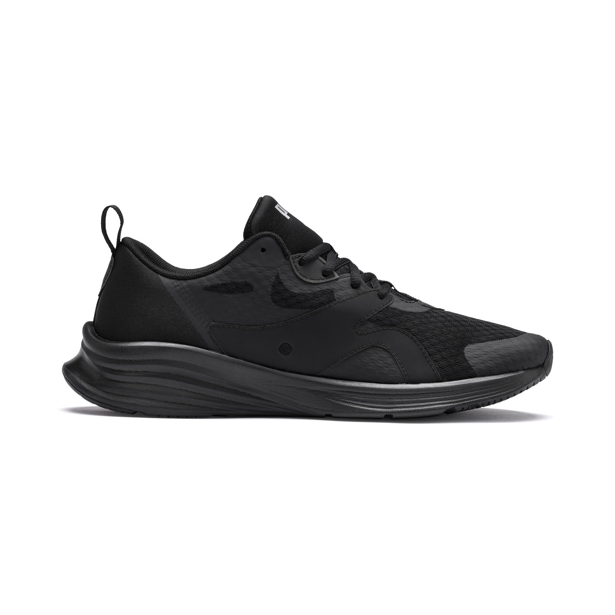 Thumbnail 6 of HYBRID Fuego Men's Running Shoes, Puma Black-Puma Black, medium