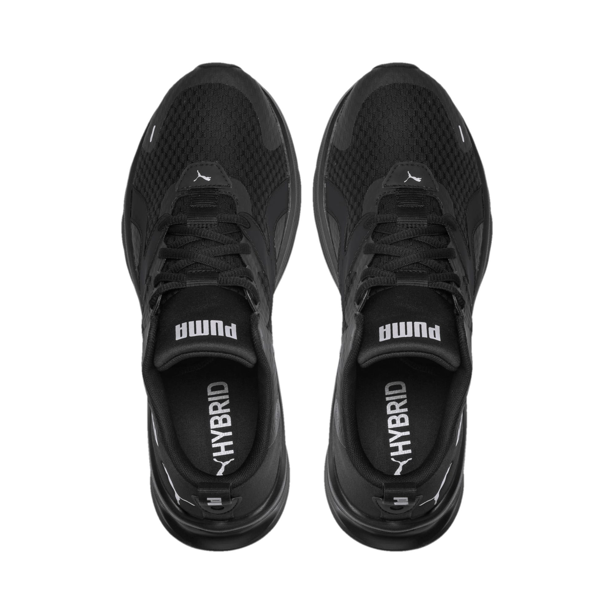 Thumbnail 7 of HYBRID Fuego Men's Running Shoes, Puma Black-Puma Black, medium