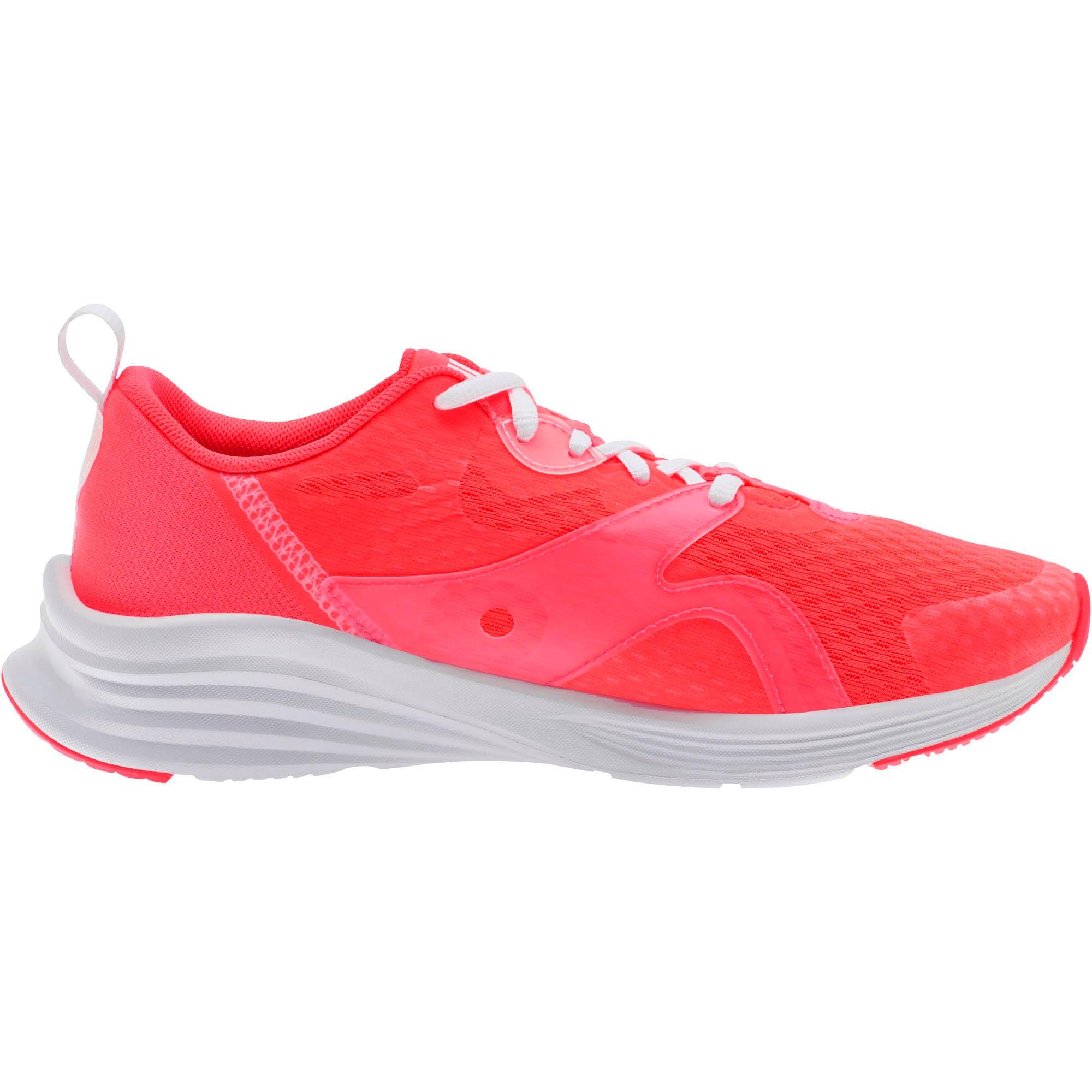 Thumbnail 4 of HYBRID Fuego Women's Running Shoes, Pink Alert-Puma White, medium