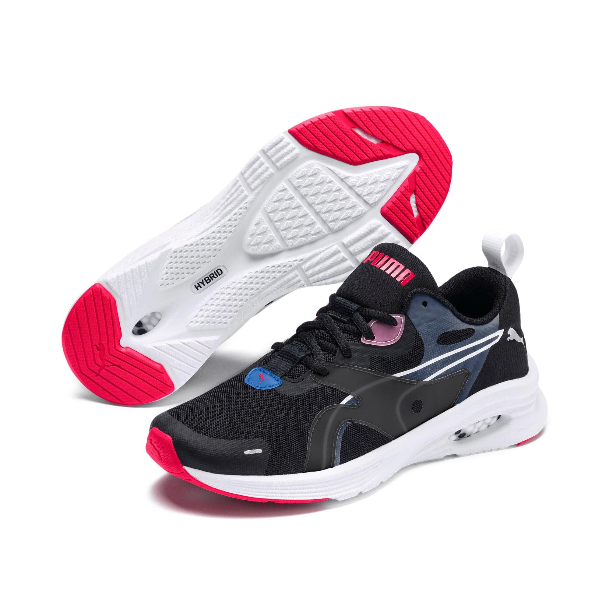 Thumbnail 3 of HYBRID Fuego Women's Running Shoes, Black-Blue Glimmer-Nrgy Rose, medium