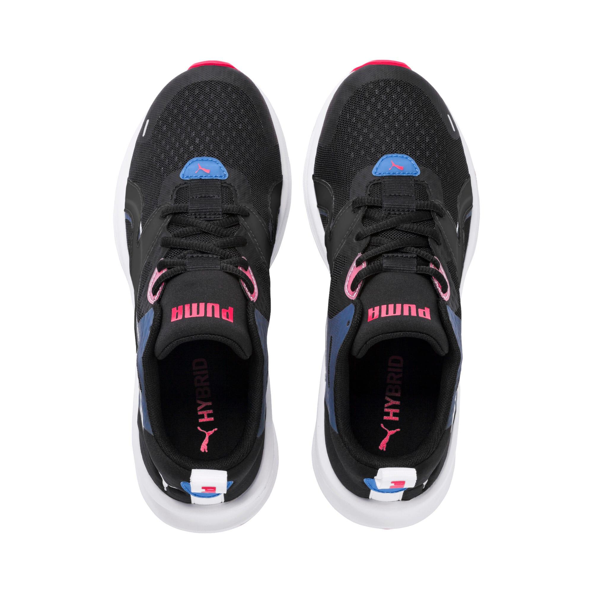 Thumbnail 7 of HYBRID Fuego Women's Running Shoes, Black-Blue Glimmer-Nrgy Rose, medium