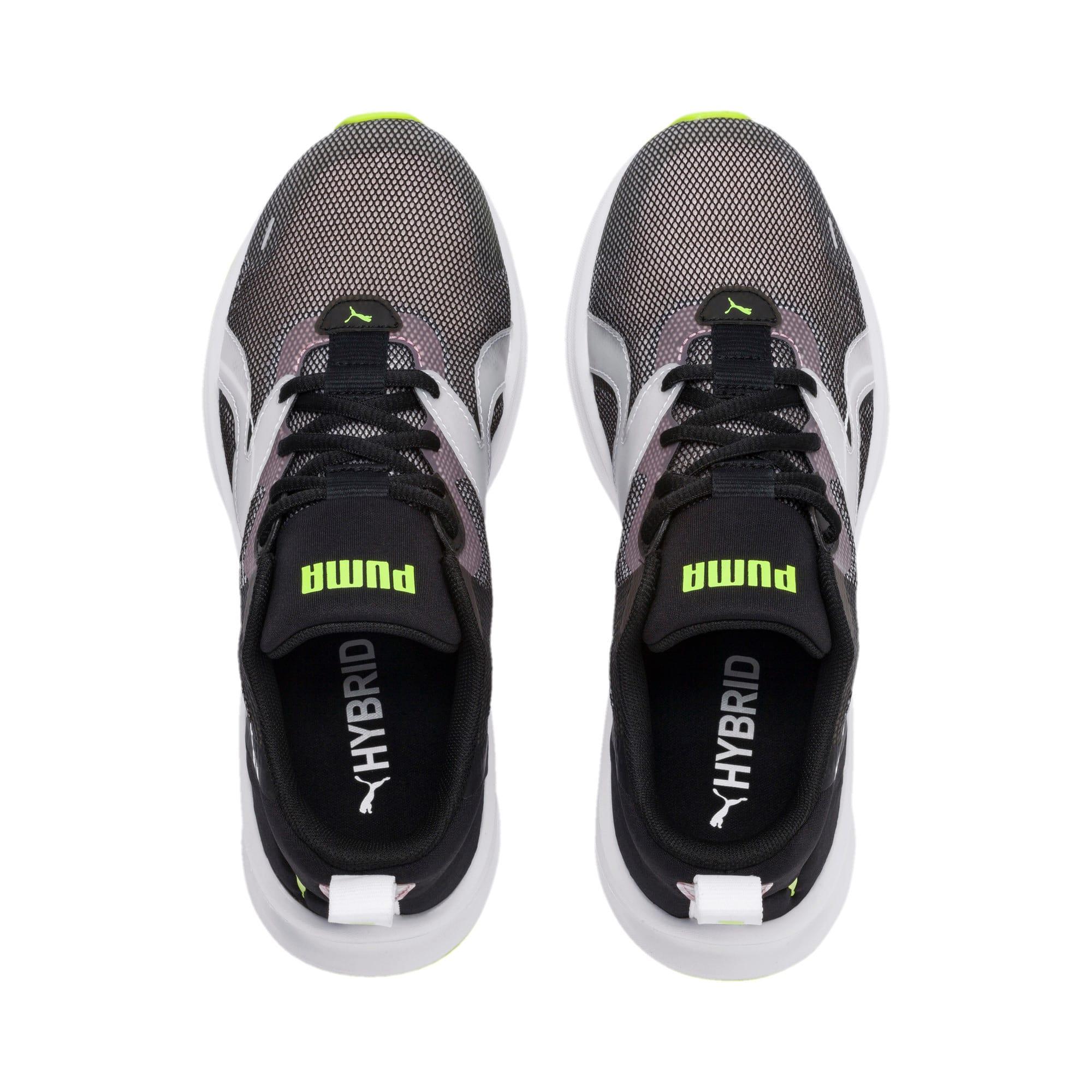 Thumbnail 4 of HYBRID Fuego Shift Women's Running Shoes, Puma Black-Bridal Rose, medium-IND