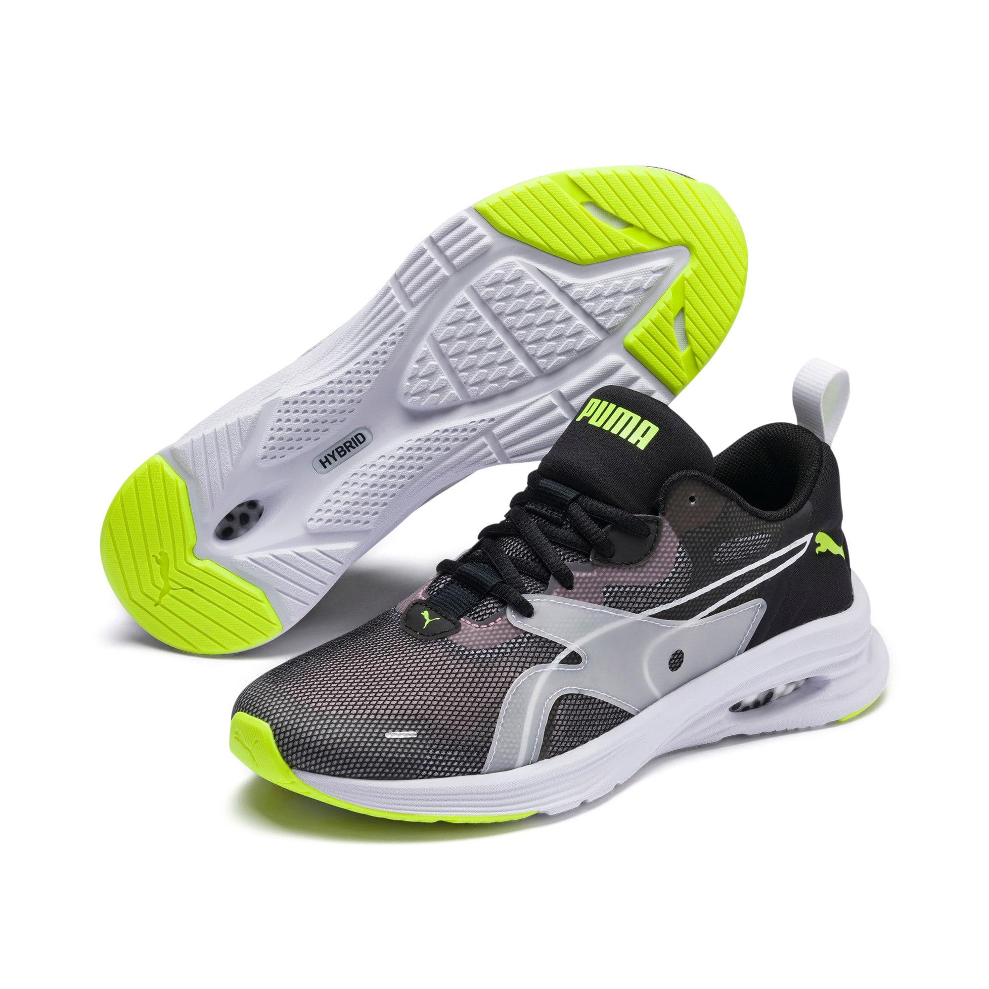 Thumbnail 2 of HYBRID Fuego Shift Women's Running Shoes, Puma Black-Bridal Rose, medium