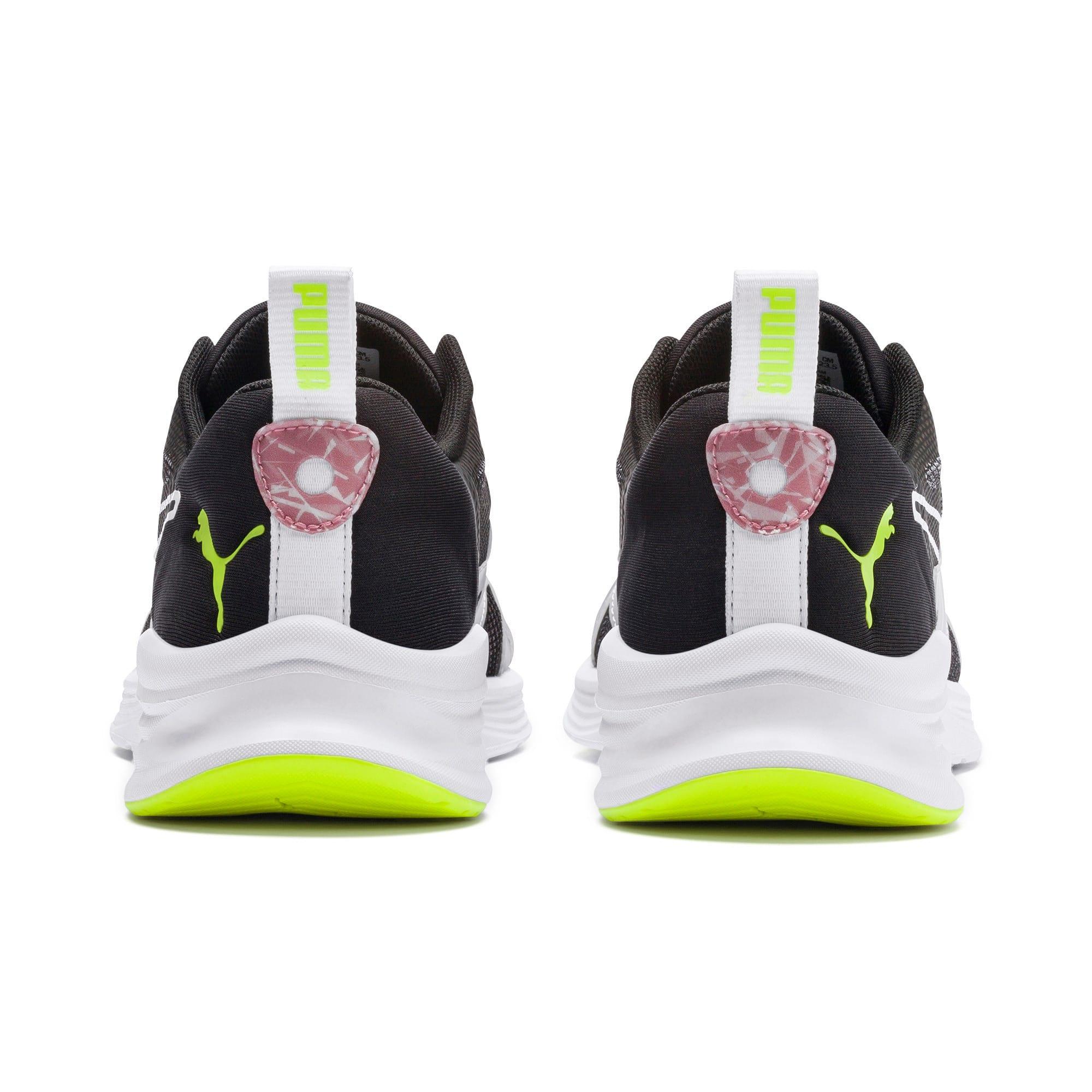 Thumbnail 6 of HYBRID Fuego Shift Women's Running Shoes, Puma Black-Bridal Rose, medium-IND