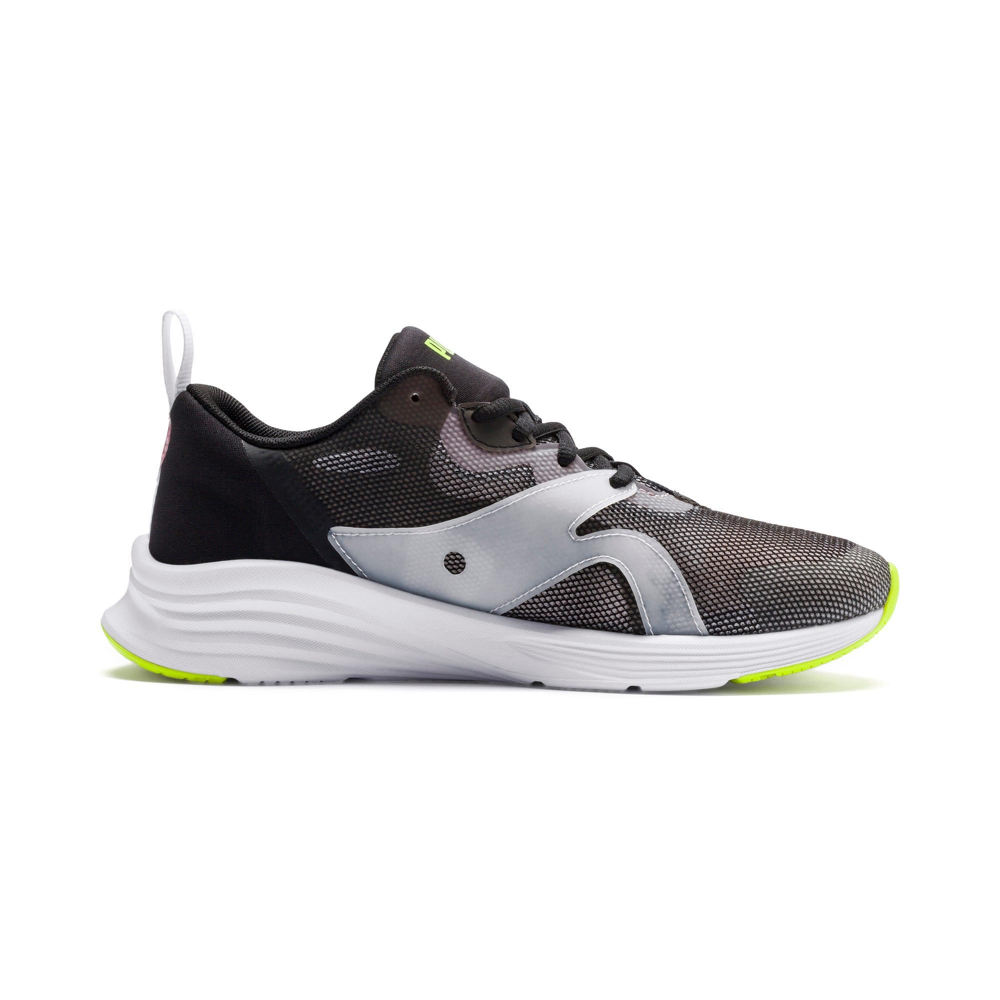 Thumbnail 6 of HYBRID Fuego Shift Women's Running Shoes, Puma Black-Bridal Rose, medium