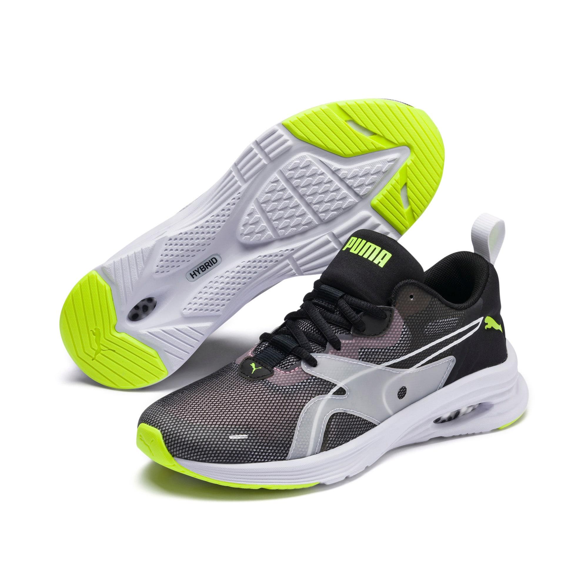 Thumbnail 8 of HYBRID Fuego Shift Women's Running Shoes, Puma Black-Bridal Rose, medium-IND