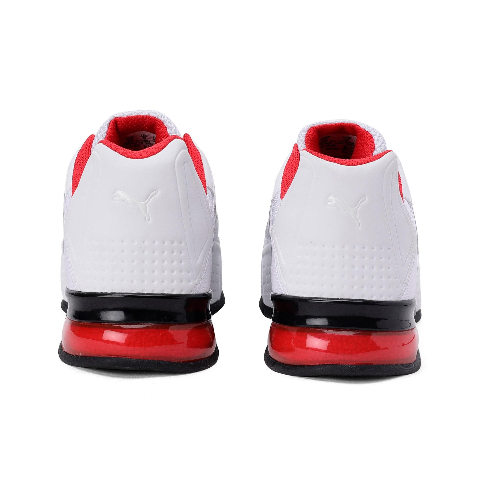 Thumbnail 3 of Leader VT NU Training Shoes, Puma Wht-Hgh Rsk Rd-Pma Blk, medium-IND