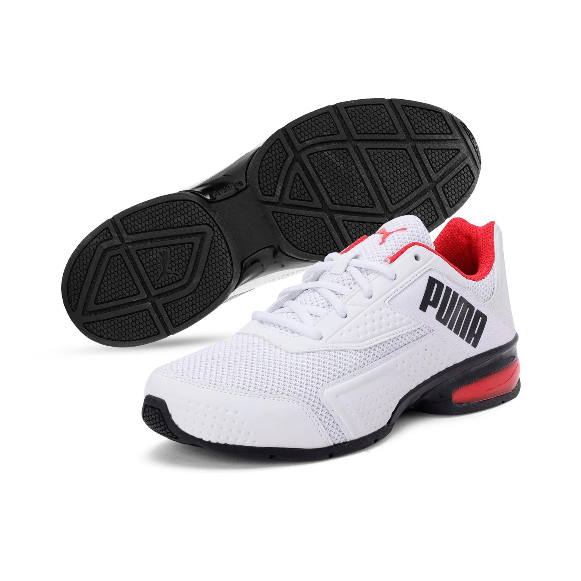 Thumbnail 2 of Leader VT NU Training Shoes, Puma Wht-Hgh Rsk Rd-Pma Blk, medium-IND