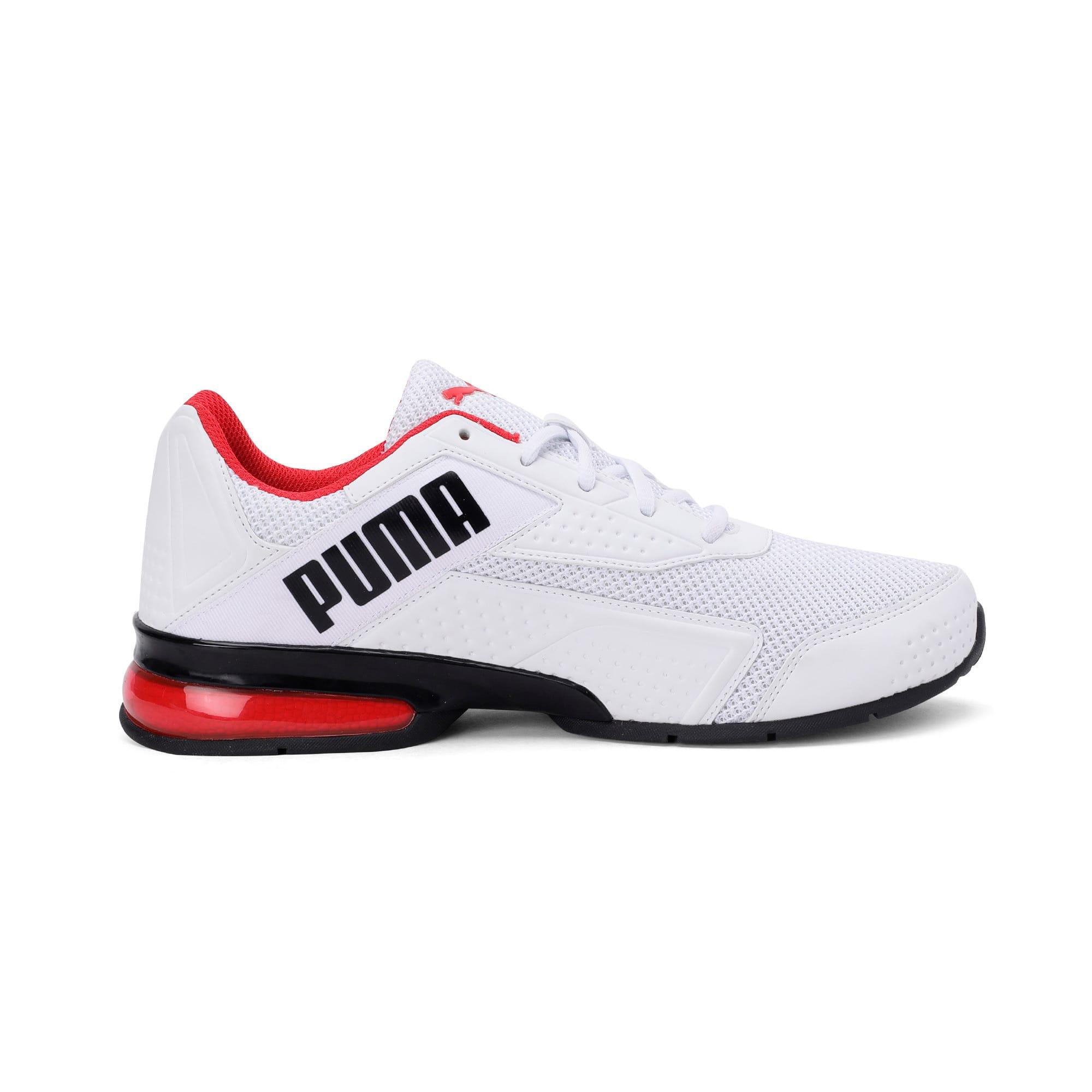 Thumbnail 5 of Leader VT NU Training Shoes, Puma Wht-Hgh Rsk Rd-Pma Blk, medium-IND
