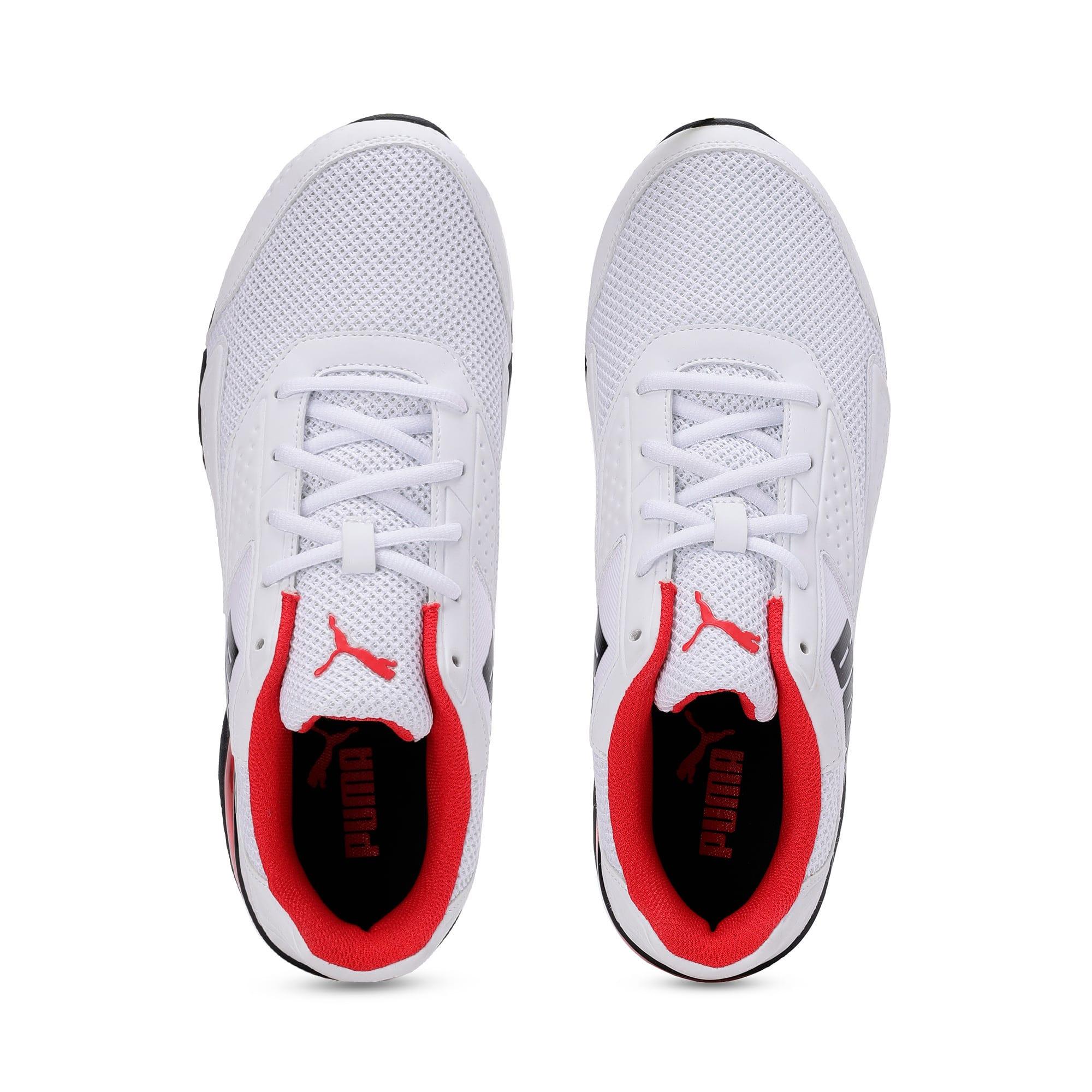 Thumbnail 6 of Leader VT NU Training Shoes, Puma Wht-Hgh Rsk Rd-Pma Blk, medium-IND