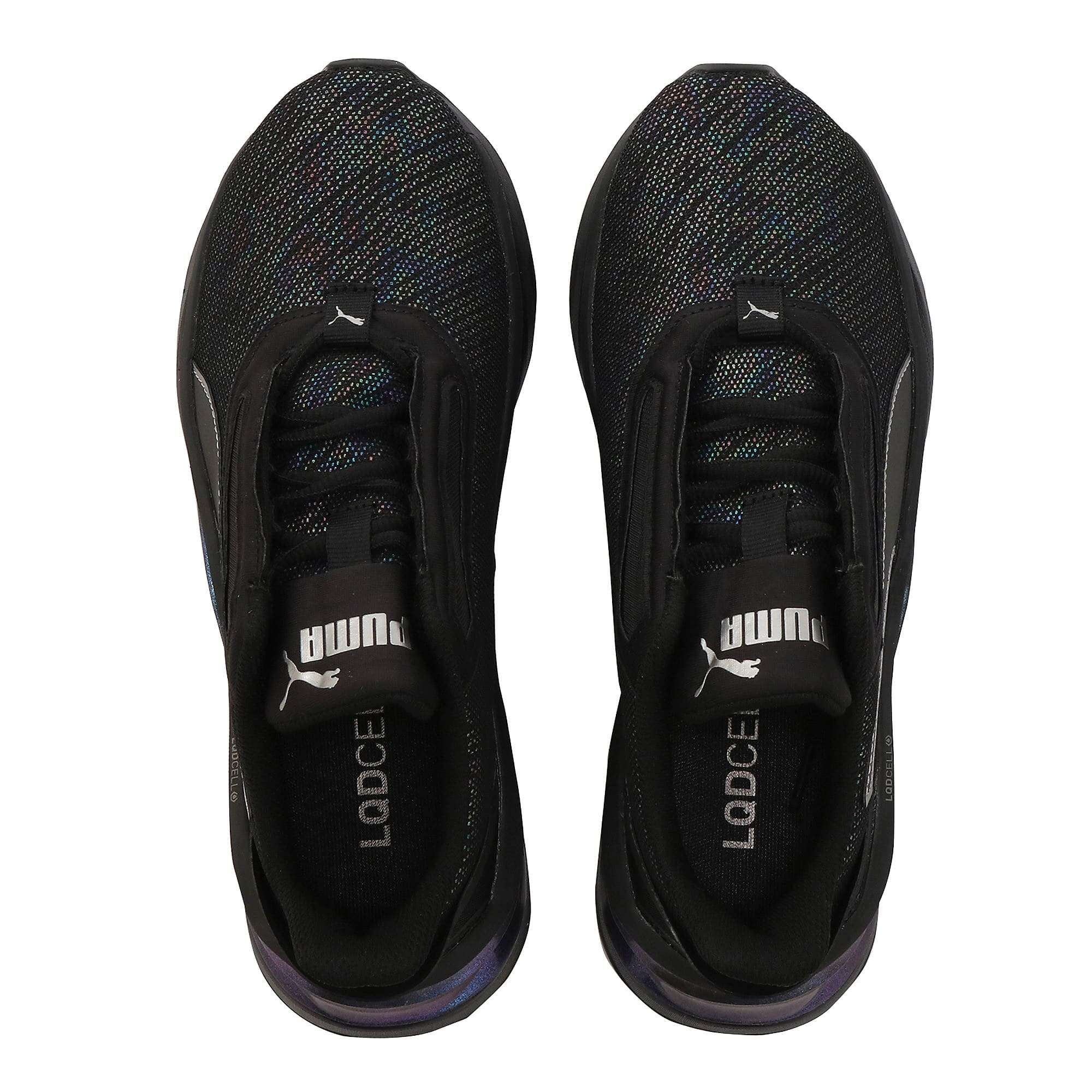 Thumbnail 6 of LQDCELL Shatter XT Luster Women's Training Shoes, Puma Black-Puma Black, medium