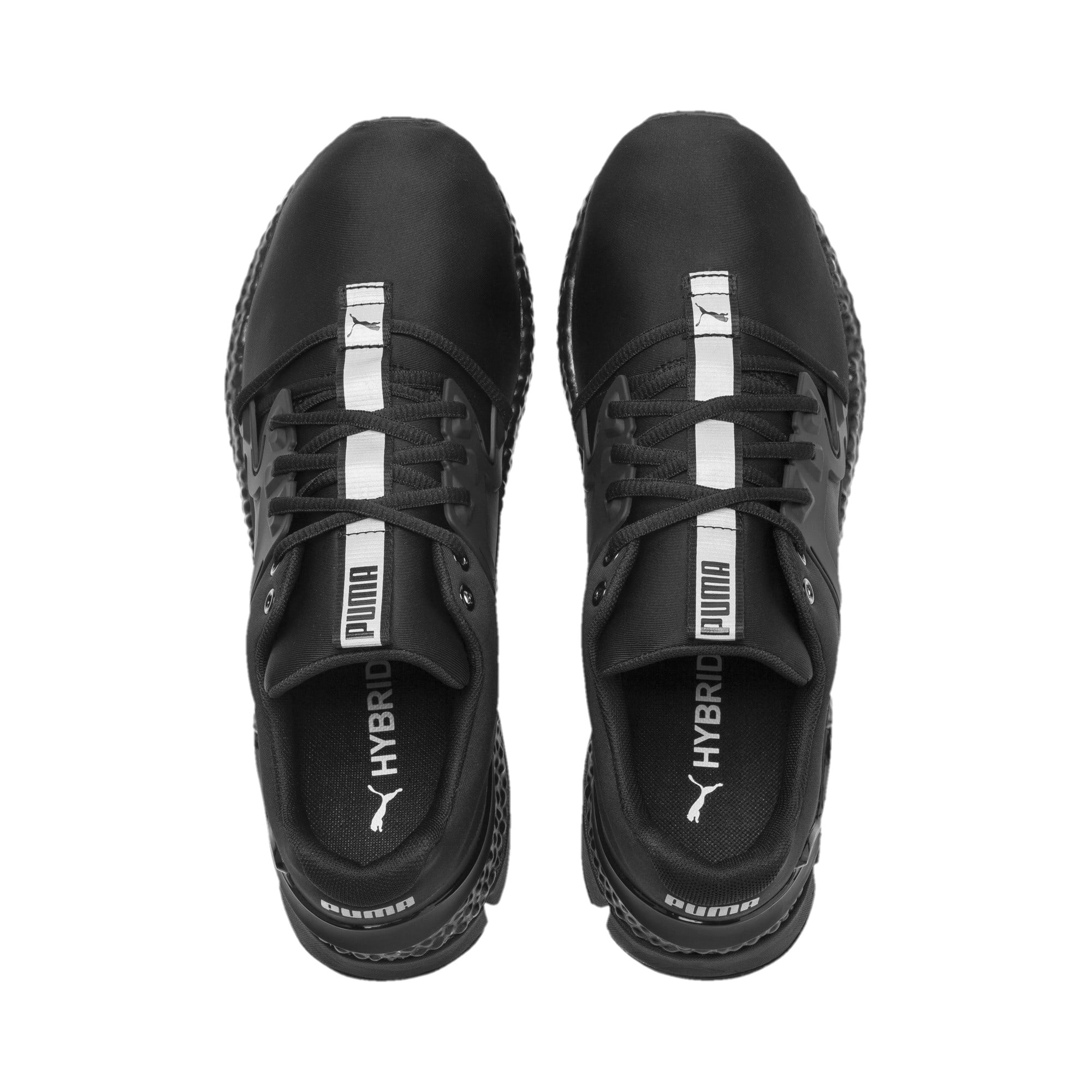 Thumbnail 7 of HYBRID Sky Rave Men's Running Shoes, Puma Black-Puma Aged Silver, medium
