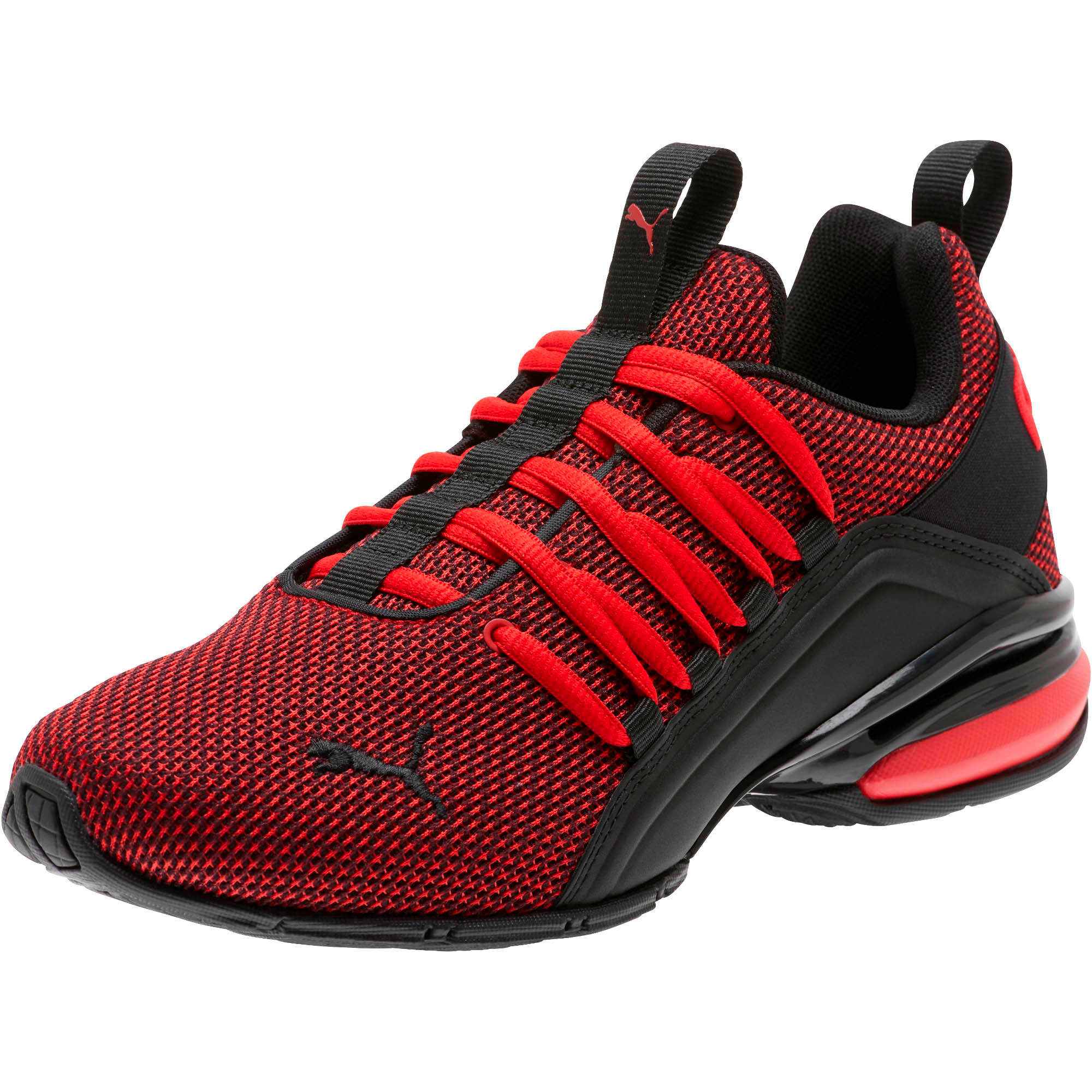 Thumbnail 1 of Axelion NM Training Shoes JR, High Risk Red-Puma Black, medium