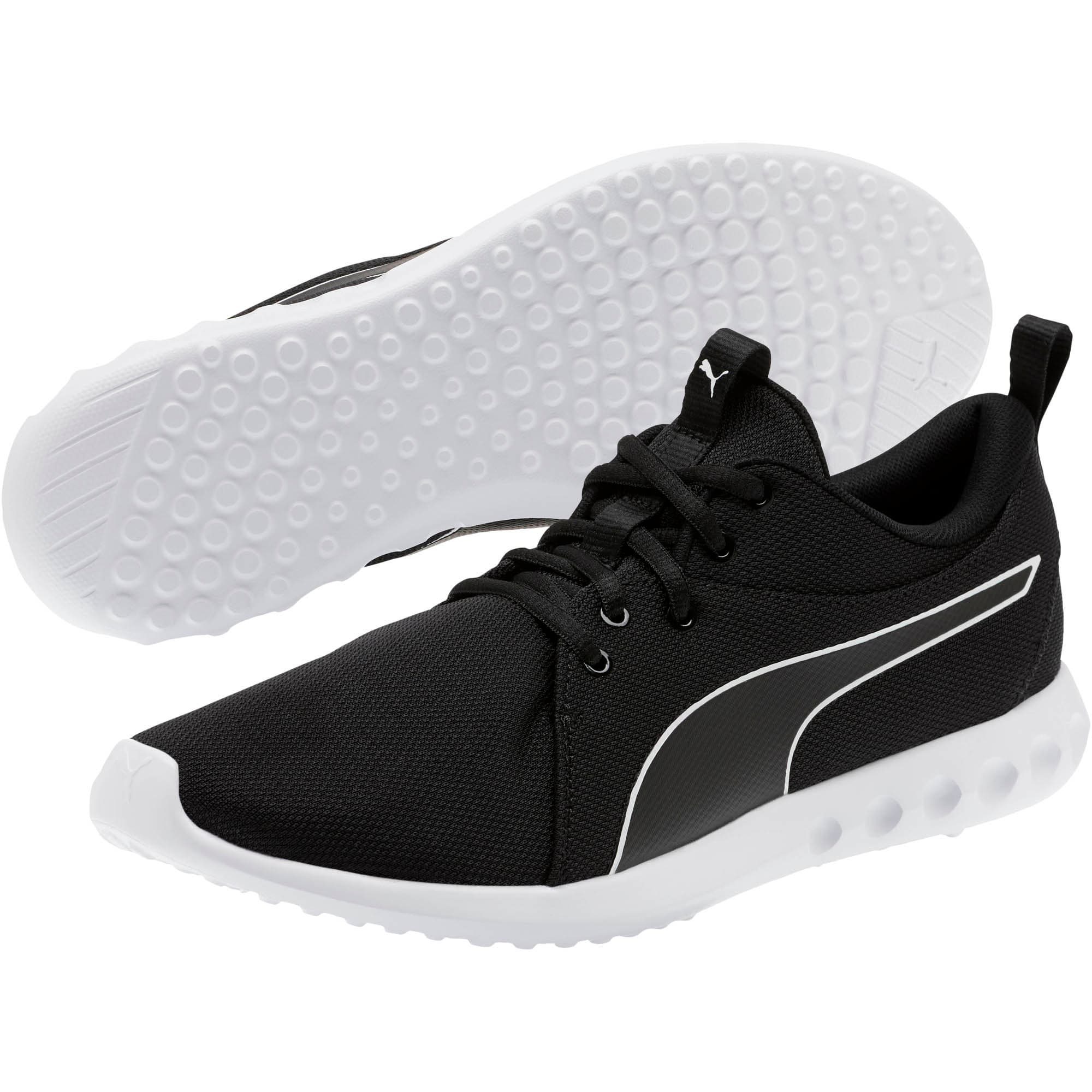 Thumbnail 2 of Carson 2 Cosmo Men's Running Shoes, Puma Black-Puma White, medium