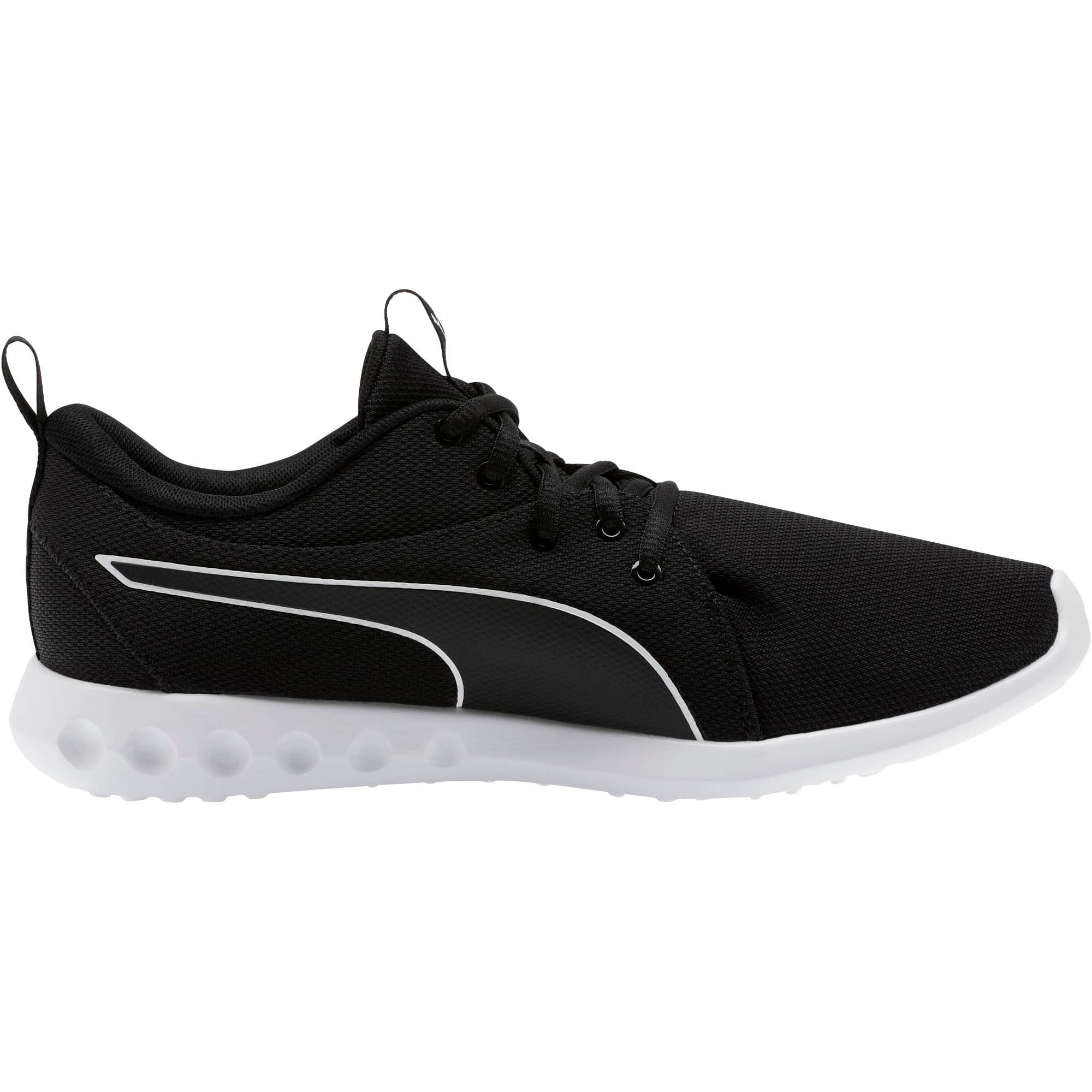 Thumbnail 4 of Carson 2 Cosmo Men's Running Shoes, Puma Black-Puma White, medium