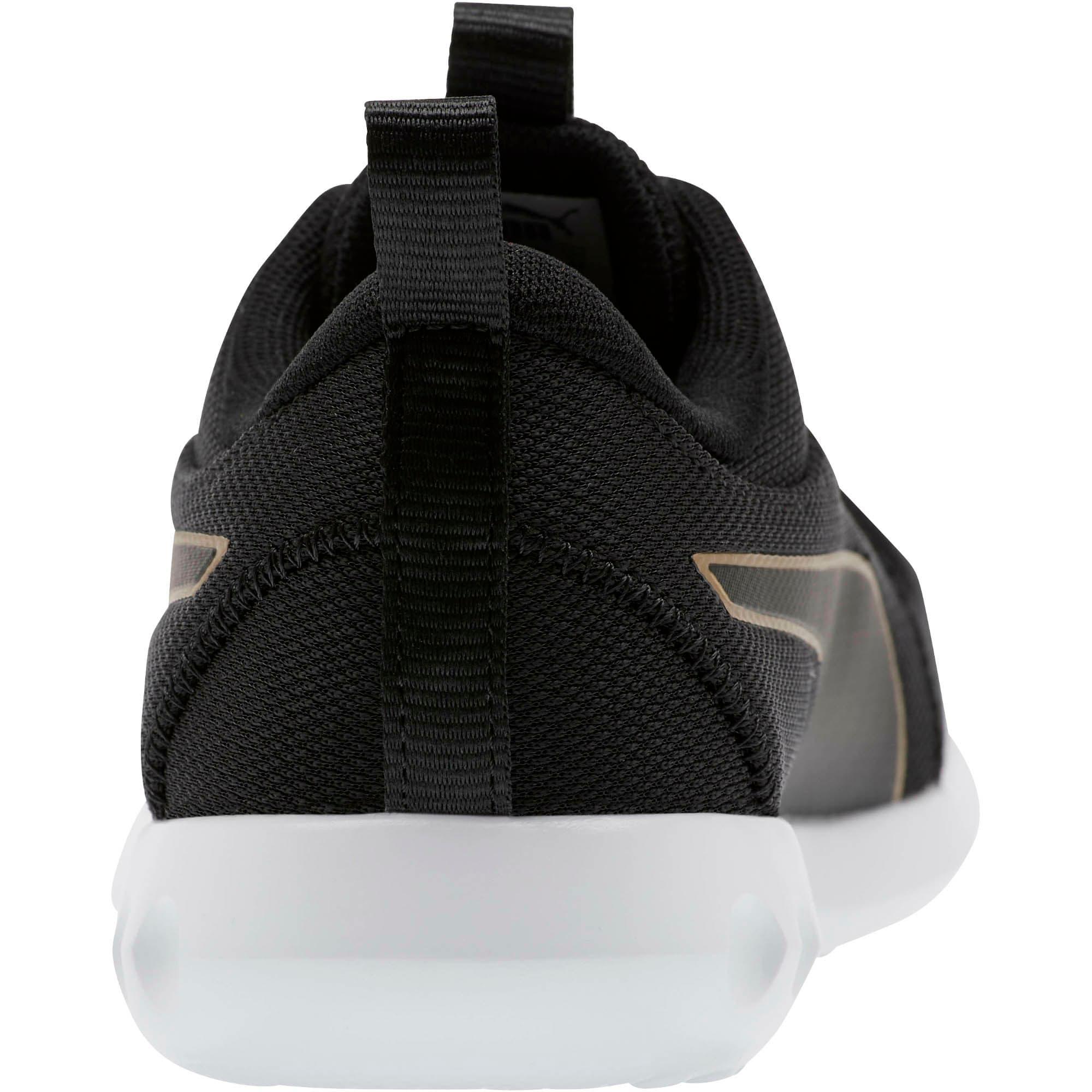 Thumbnail 3 of Carson 2 Cosmo Women's Running Shoes, Puma Black-Metallic Gold, medium