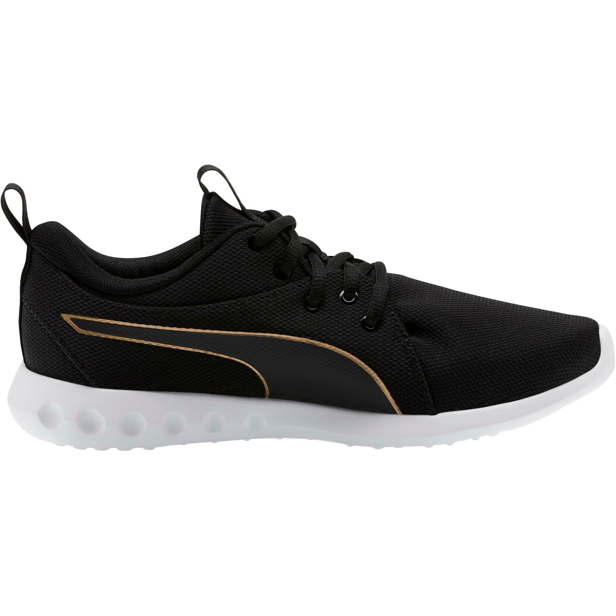 Thumbnail 4 of Carson 2 Cosmo Women's Running Shoes, Puma Black-Metallic Gold, medium