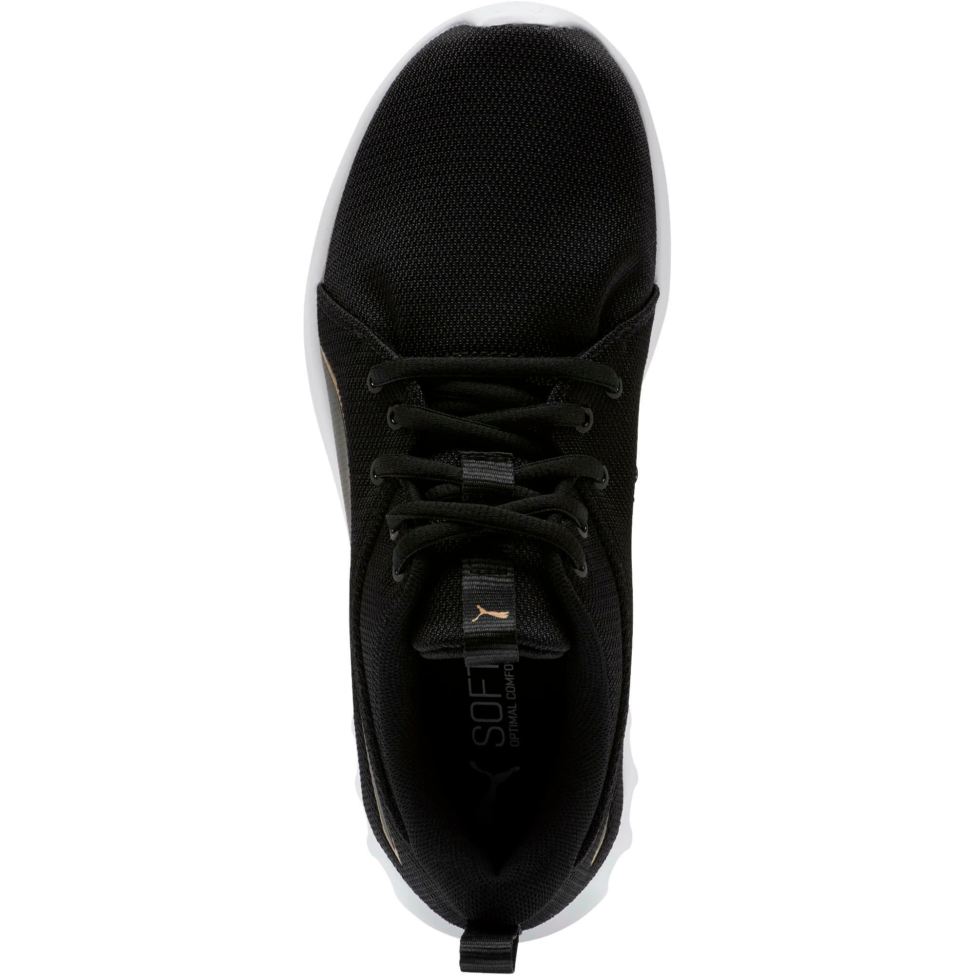 Thumbnail 5 of Carson 2 Cosmo Women's Running Shoes, Puma Black-Metallic Gold, medium