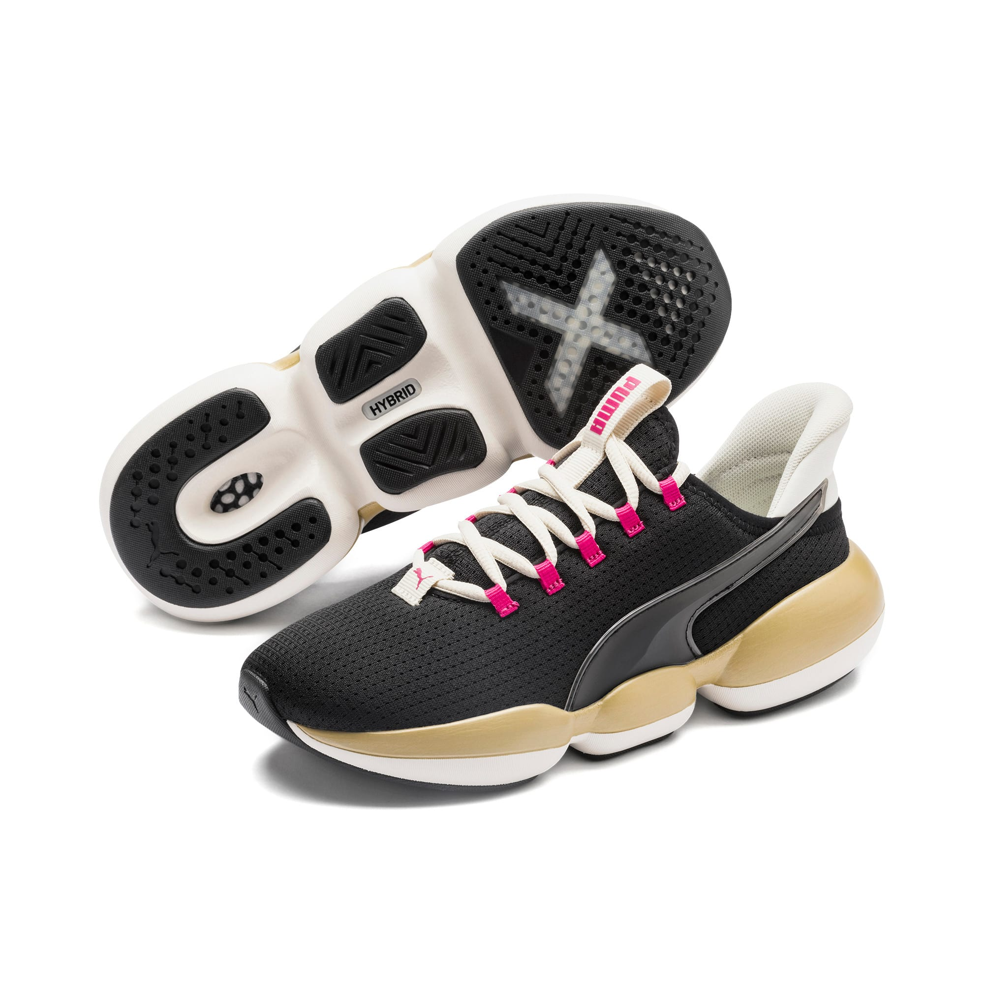 Thumbnail 2 of Mode XT Sweet Women's Training Shoes, Black- White-Purple, medium