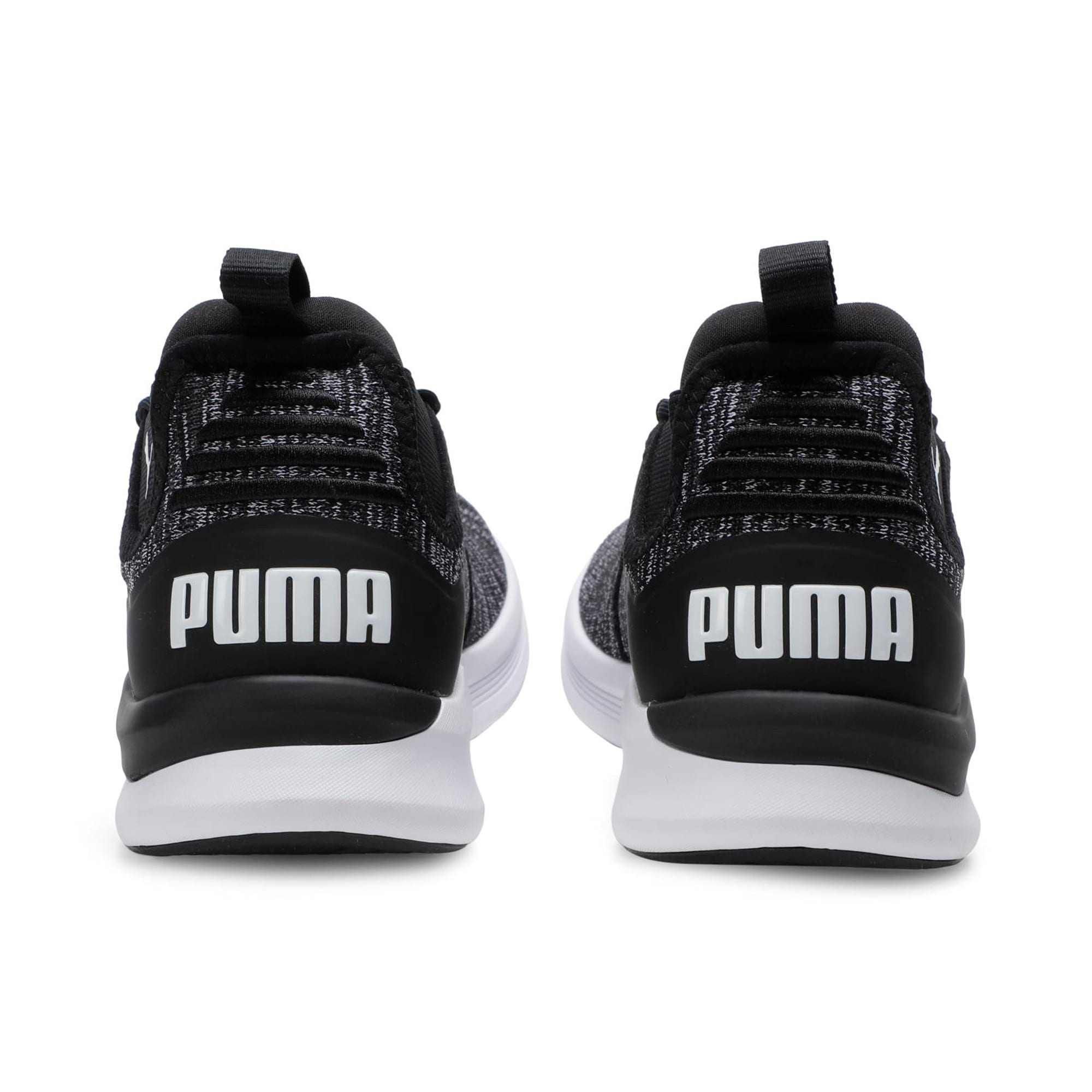 Thumbnail 3 of Flash Daunt Men's Running Shoes, Puma Black-Asphalt- White, medium-IND