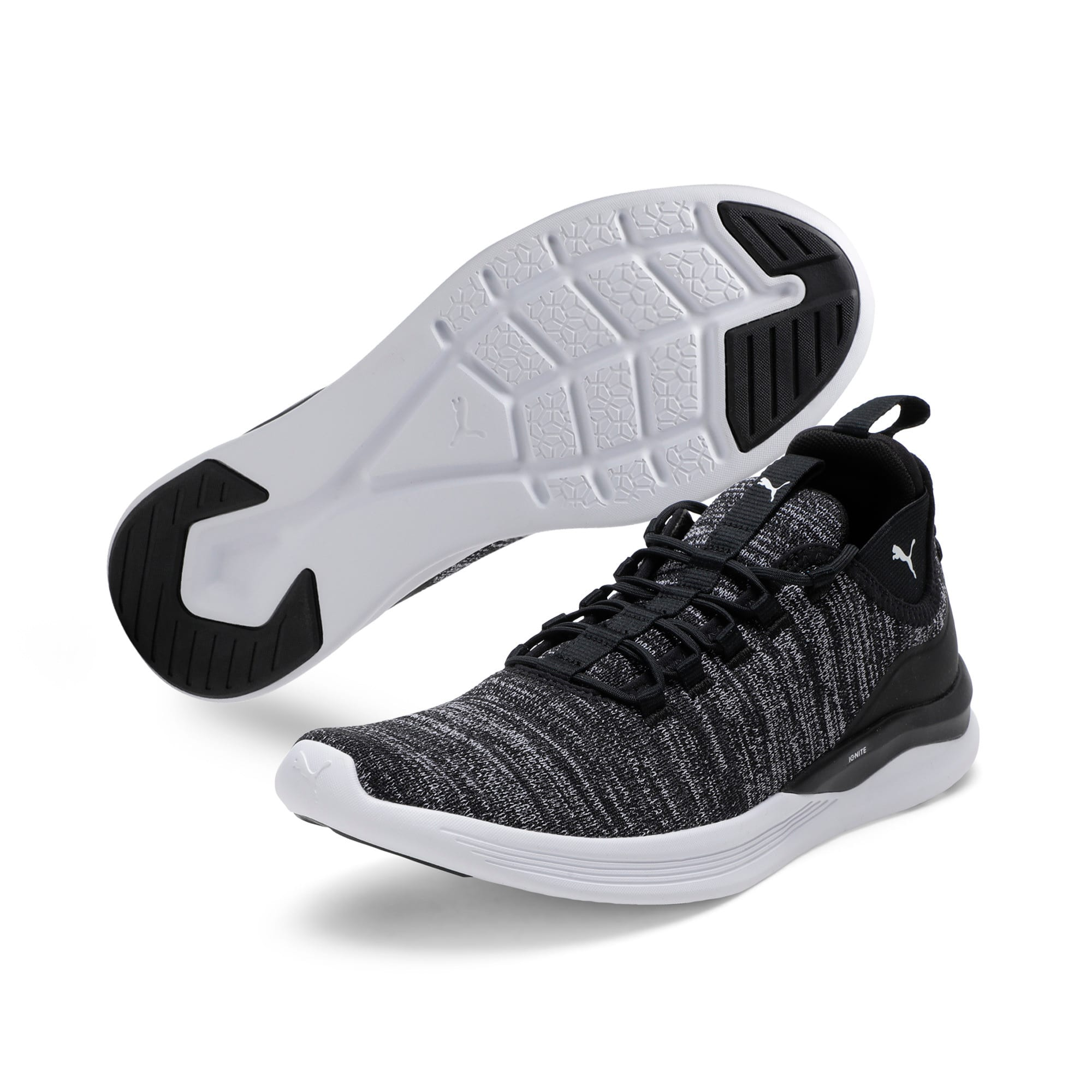 Thumbnail 2 of Flash Daunt Men's Running Shoes, Puma Black-Asphalt- White, medium-IND